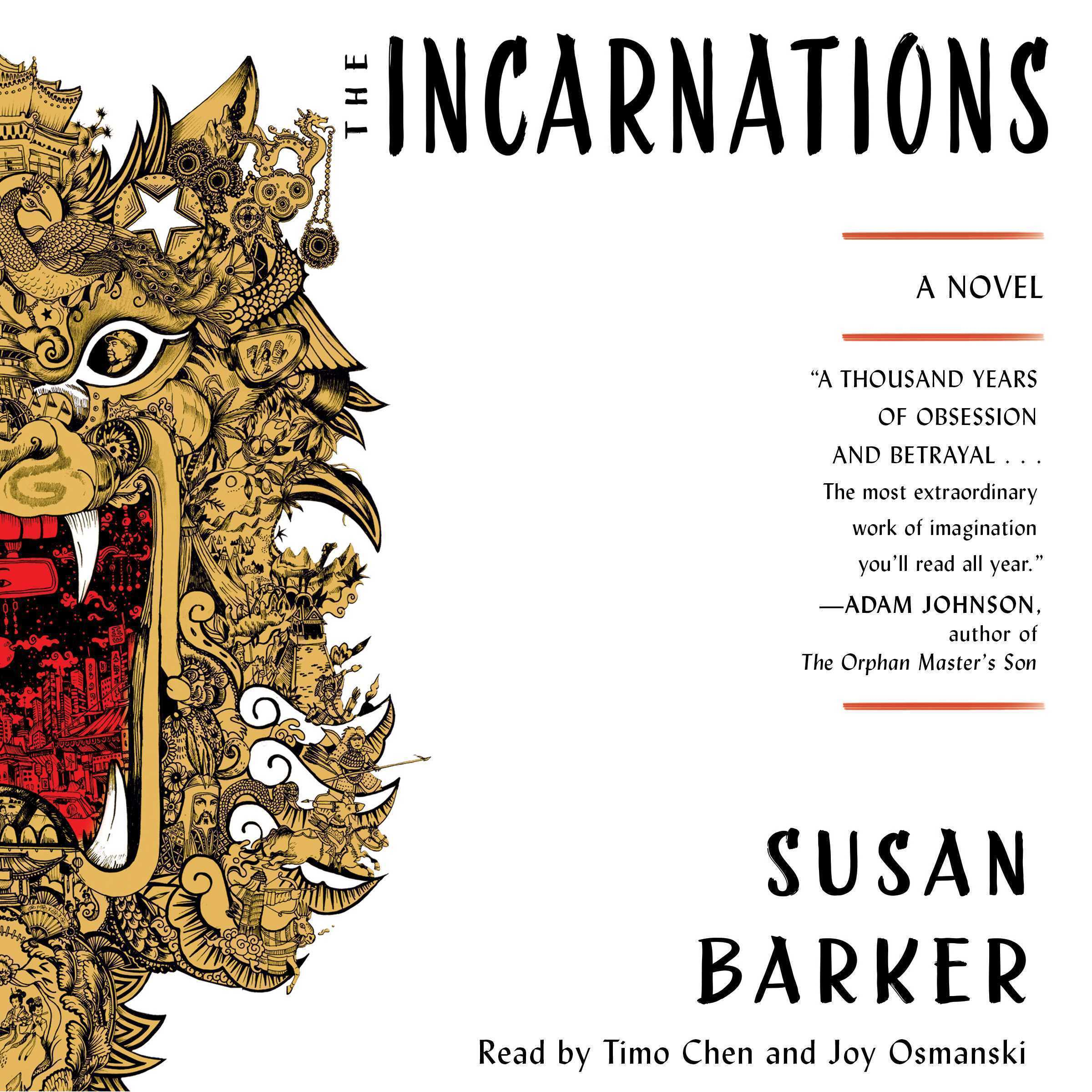 Printable The Incarnations: A Novel Audiobook Cover Art