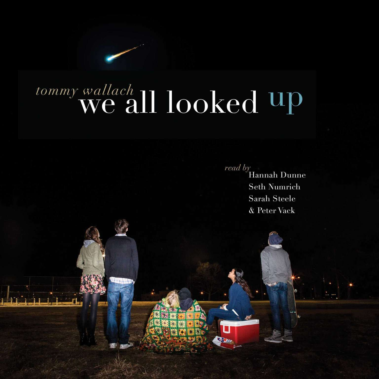Printable We All Looked Up Audiobook Cover Art