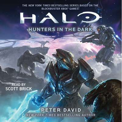 HALO: Hunters in the Dark Audiobook, by Peter David