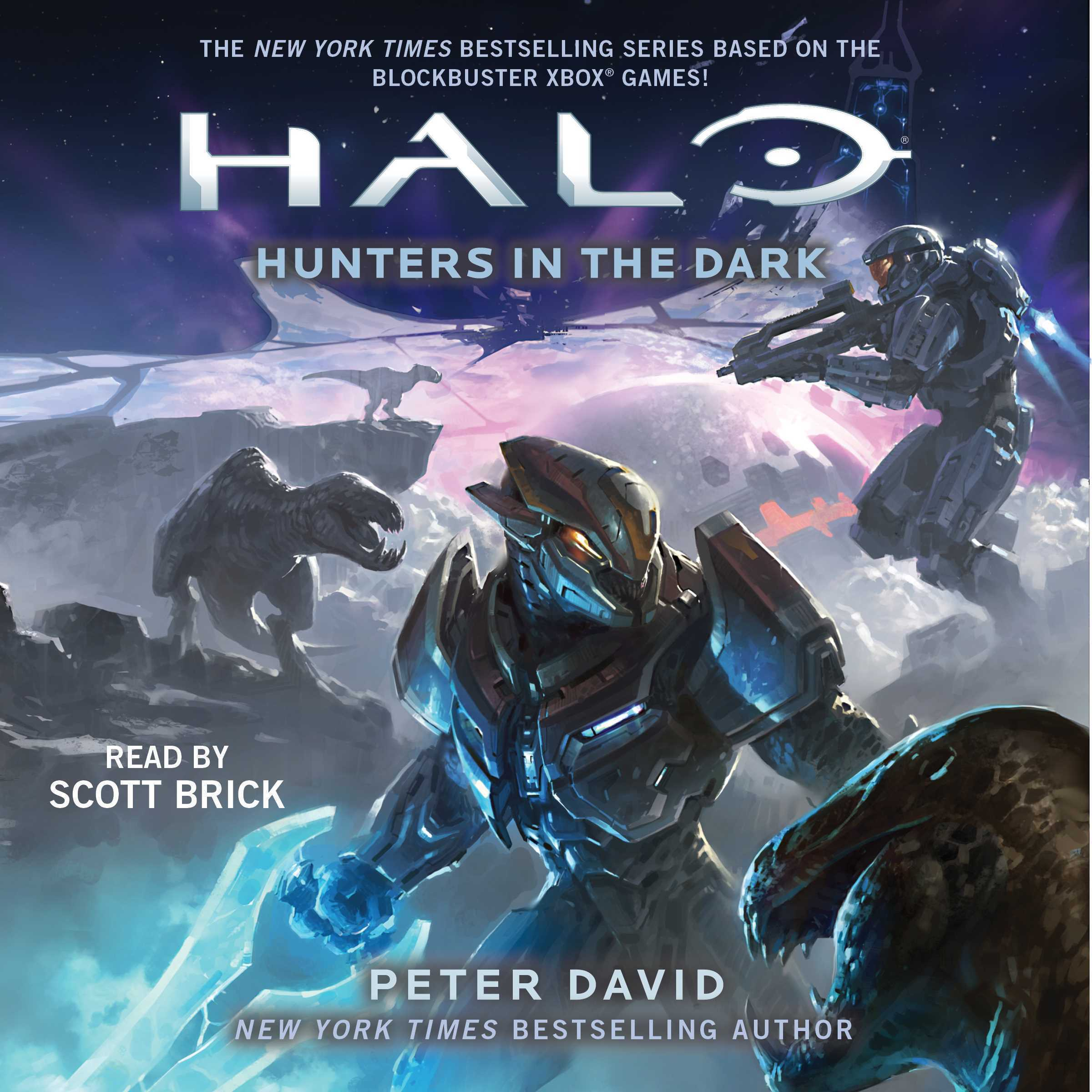 Printable HALO: Hunters in the Dark Audiobook Cover Art