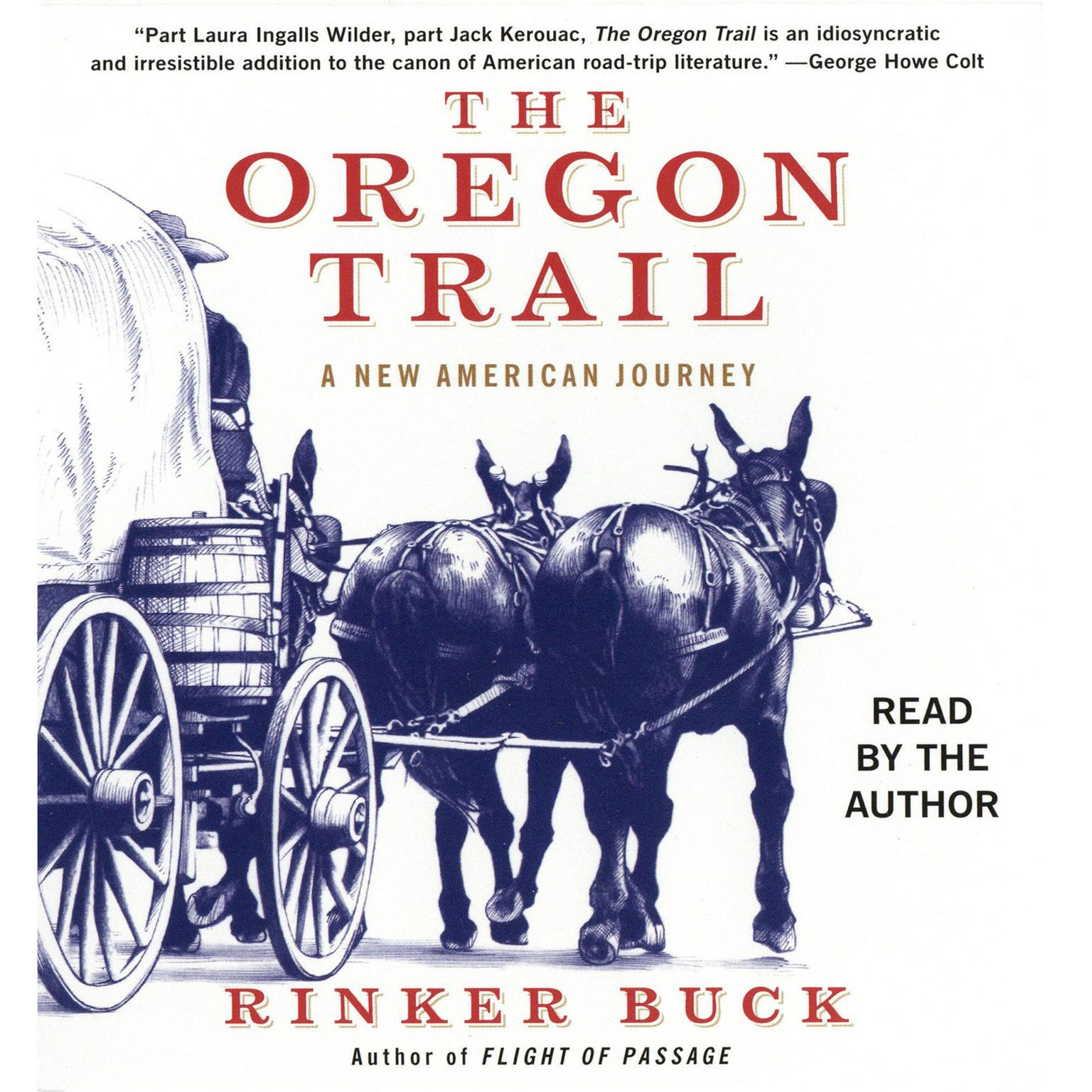 Printable The Oregon Trail: An American Journey Audiobook Cover Art