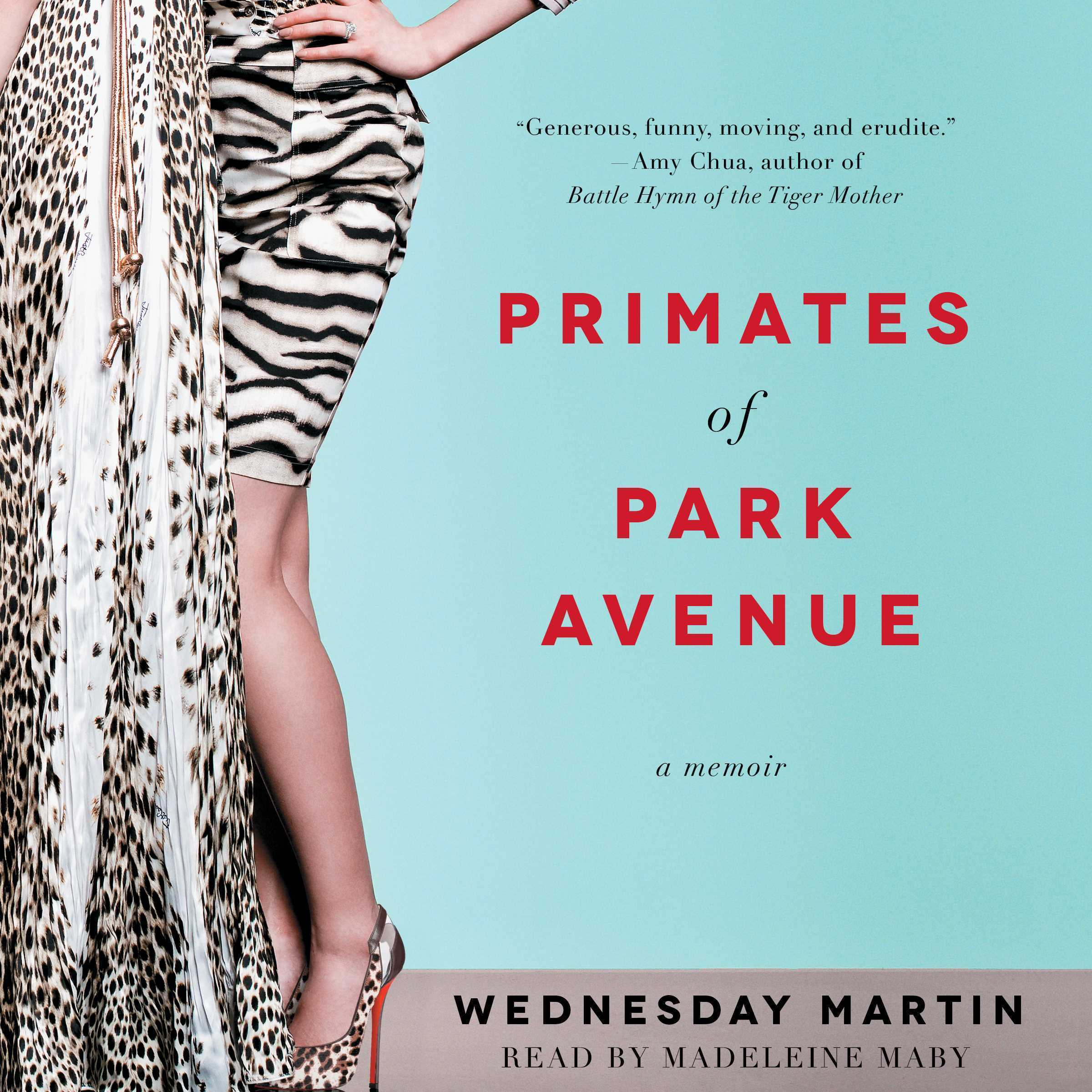 Printable Primates of Park Avenue: Adventures inside the Secret Sisterhood of Manhattan Moms Audiobook Cover Art