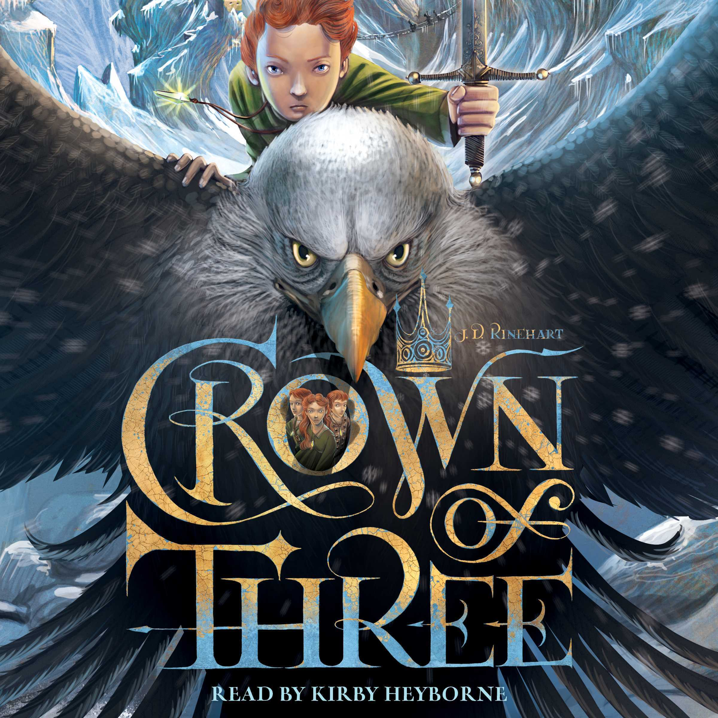 Printable Crown of Three Audiobook Cover Art