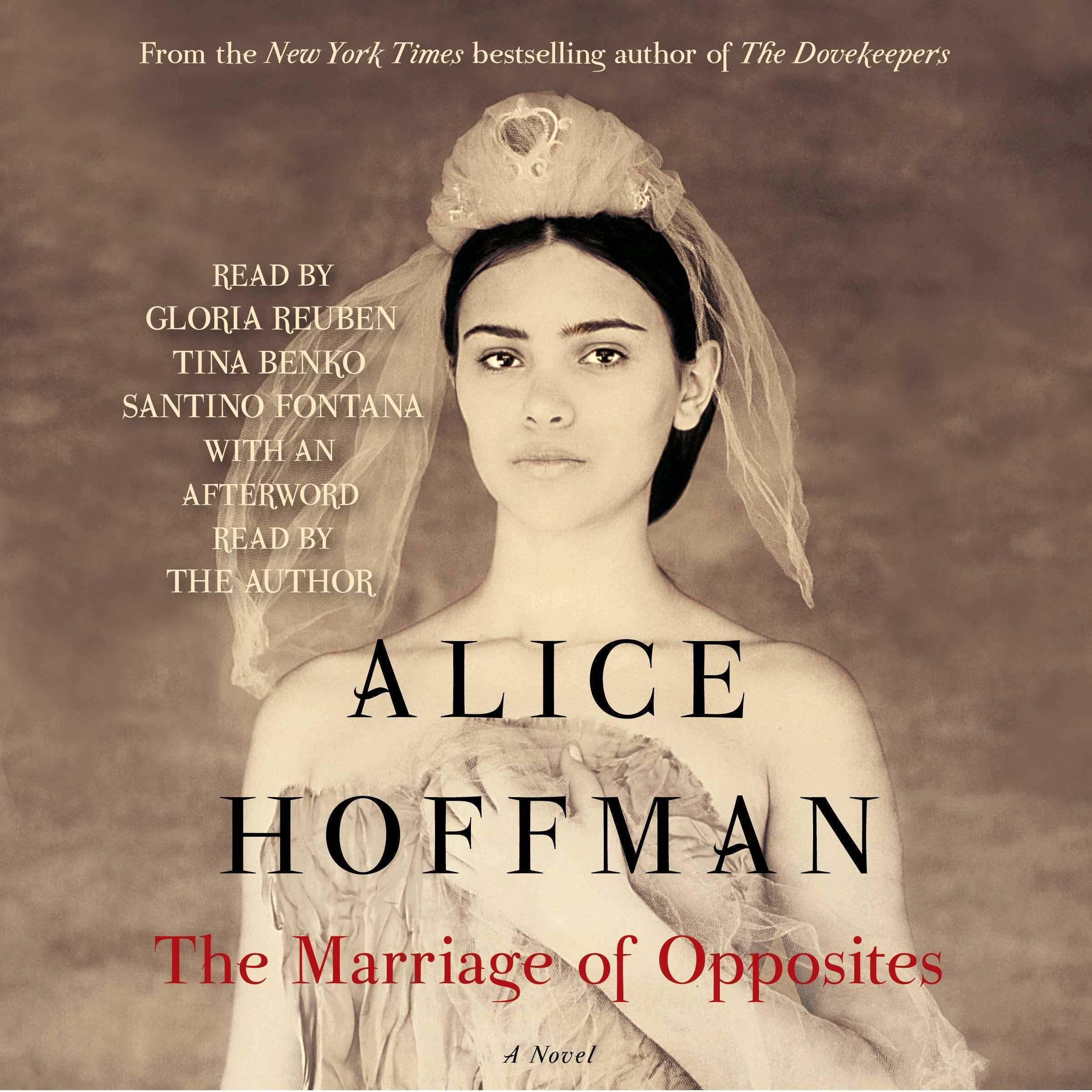Printable The Marriage of Opposites Audiobook Cover Art