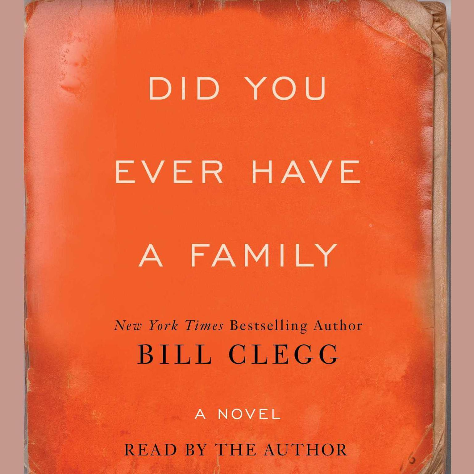 Printable Did You Ever Have a Family: A Novel Audiobook Cover Art
