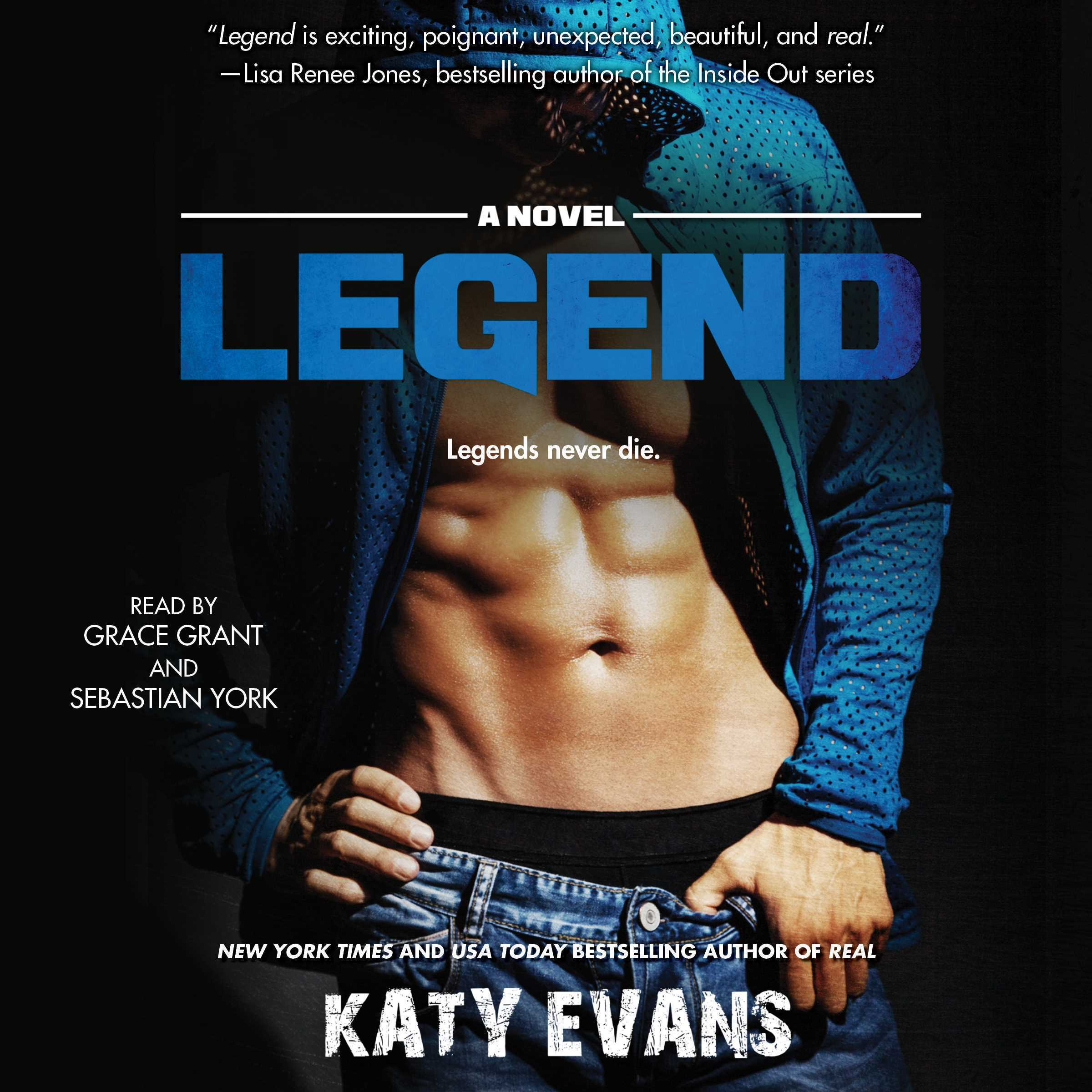 Printable Legend: A Novel Audiobook Cover Art