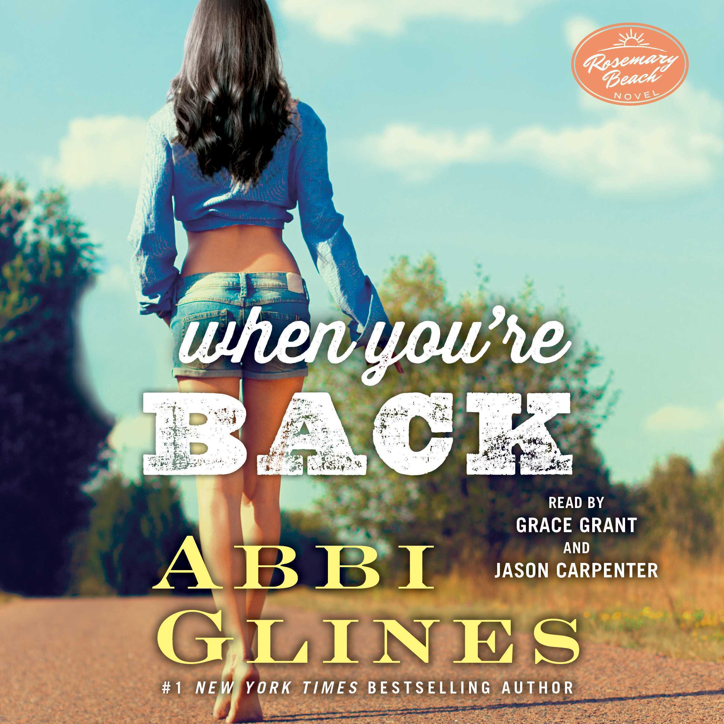 Printable When You're Back: A Rosemary Beach Novel Audiobook Cover Art