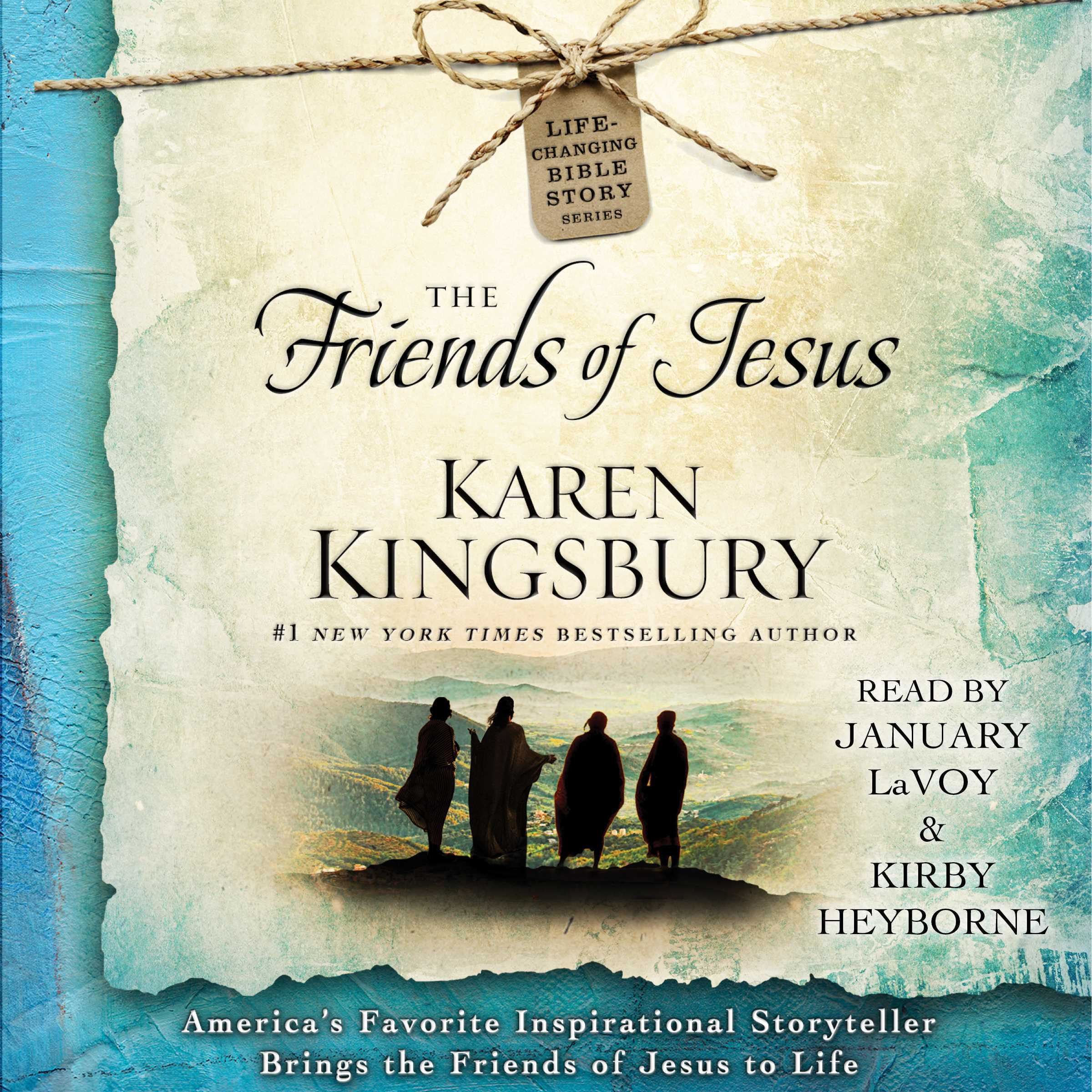 Printable The Friends of Jesus Audiobook Cover Art
