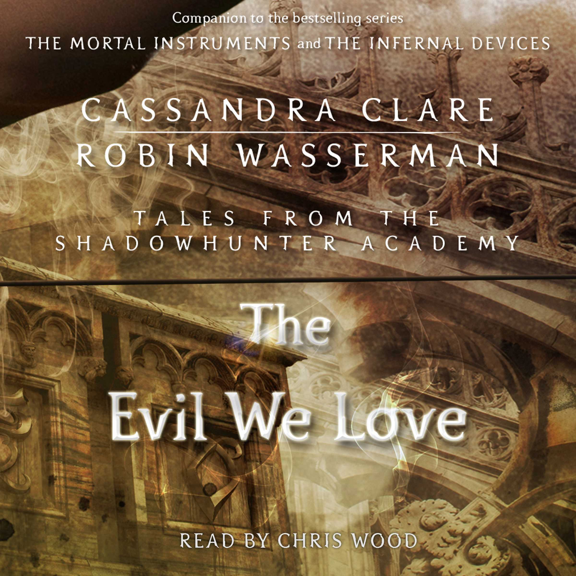 Printable The Evil We Love Audiobook Cover Art