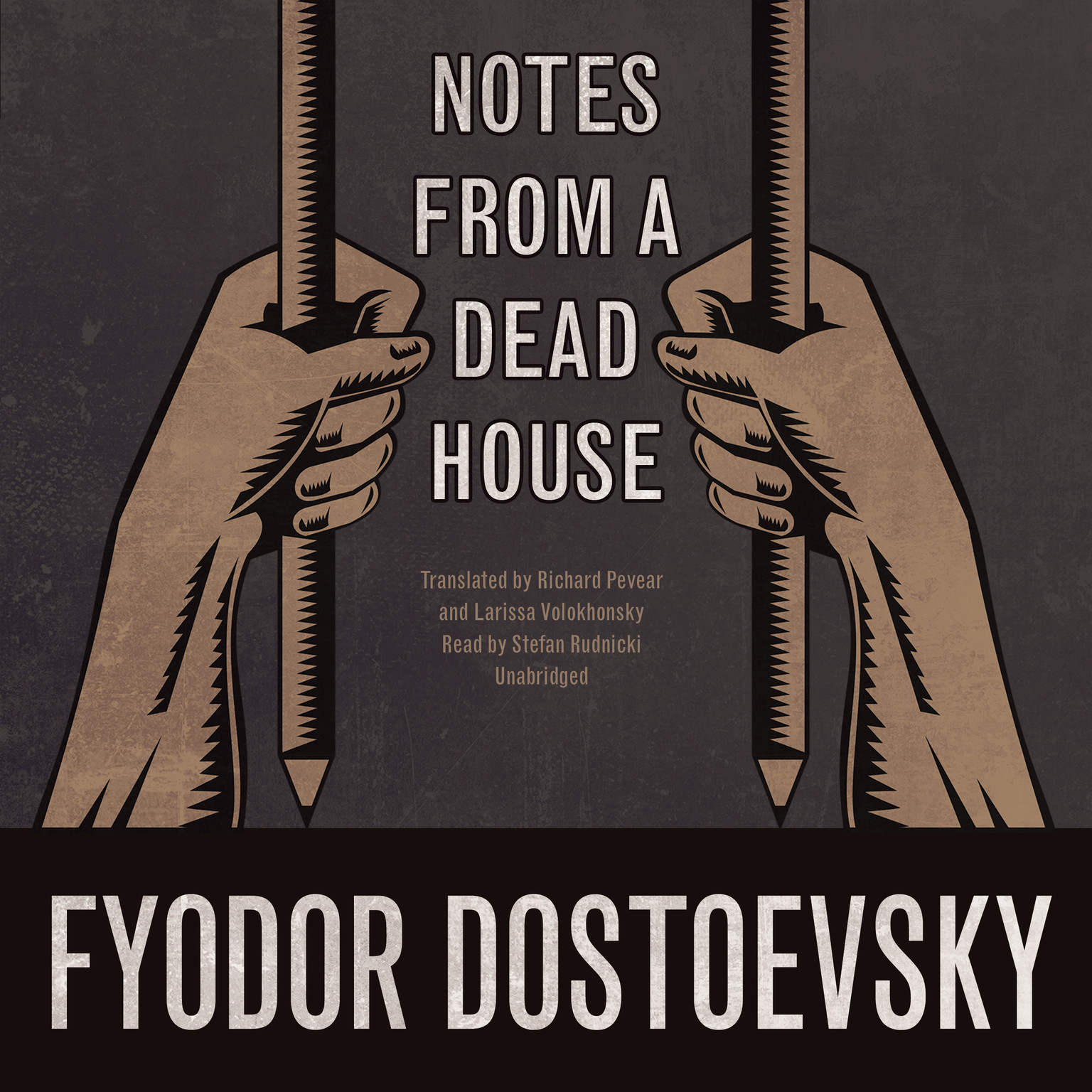 Printable Notes from a Dead House Audiobook Cover Art