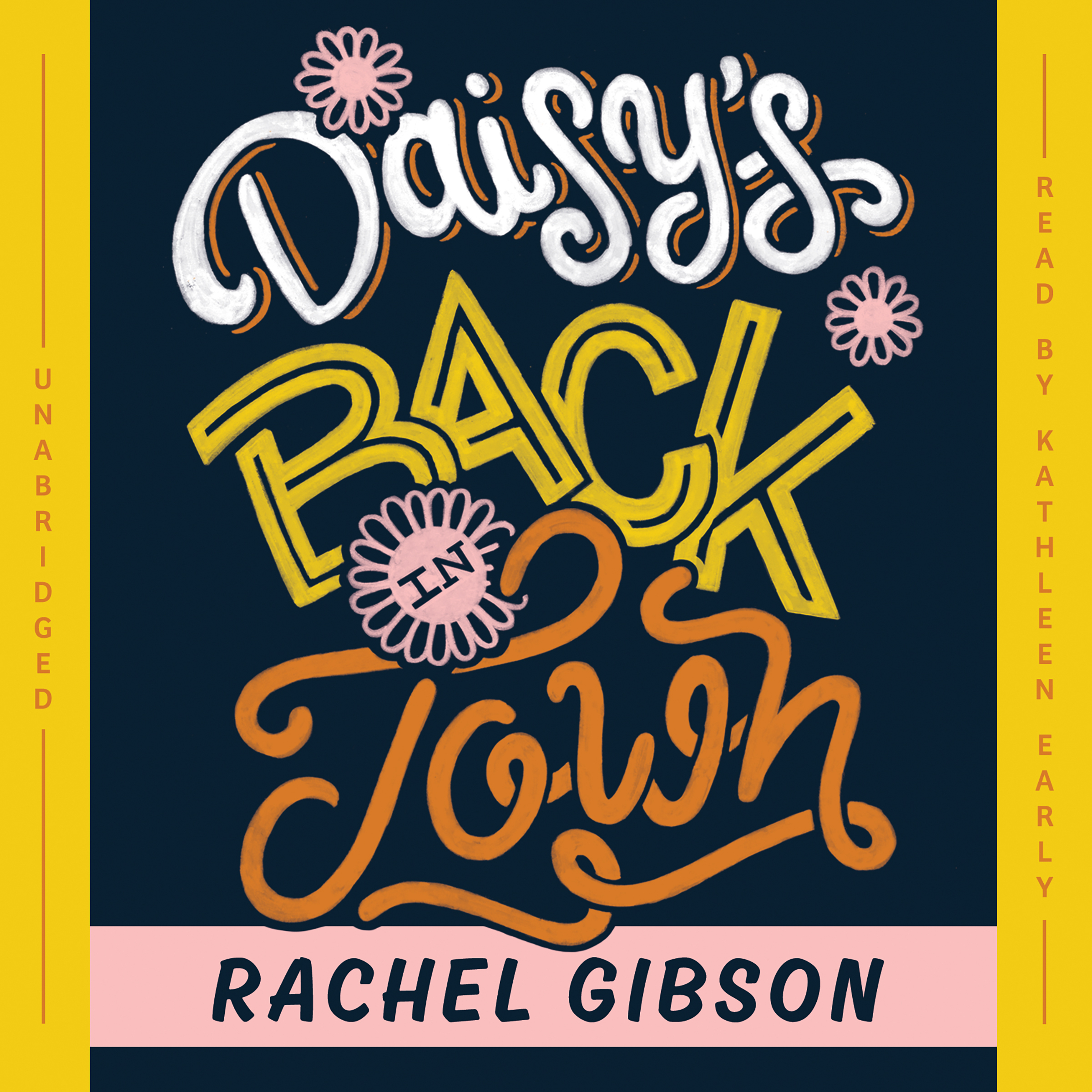 Printable Daisy's Back in Town Audiobook Cover Art