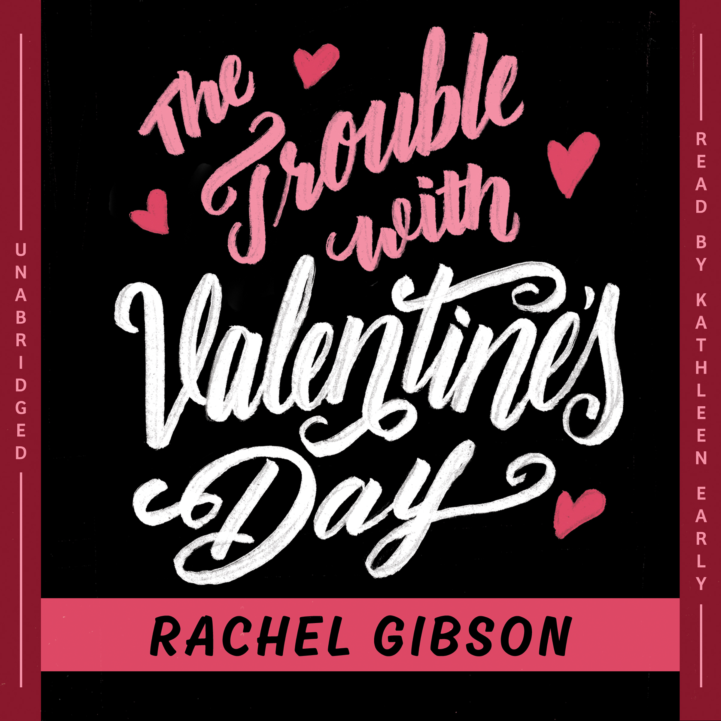 Printable The Trouble with Valentine's Day Audiobook Cover Art
