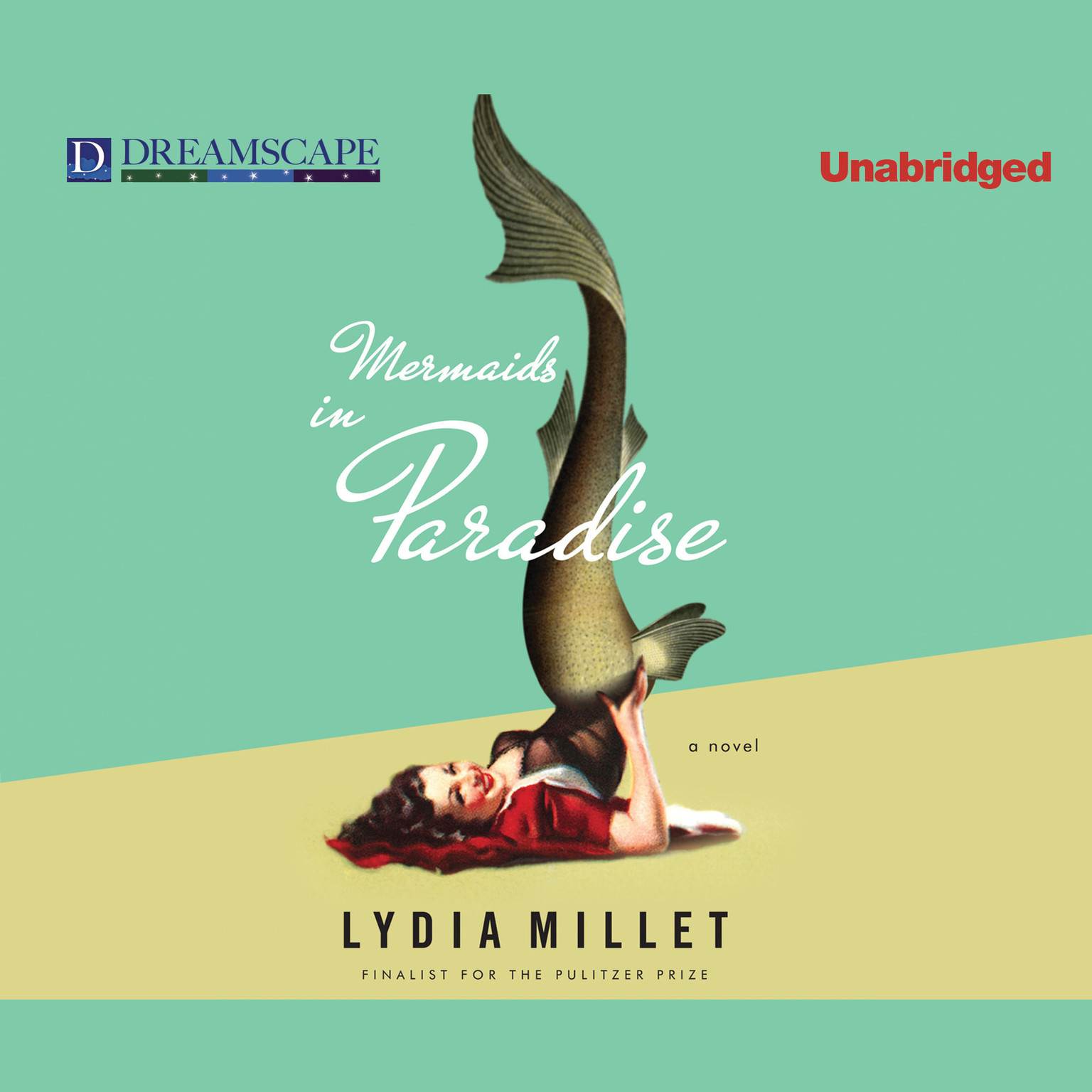 Printable Mermaids in Paradise Audiobook Cover Art