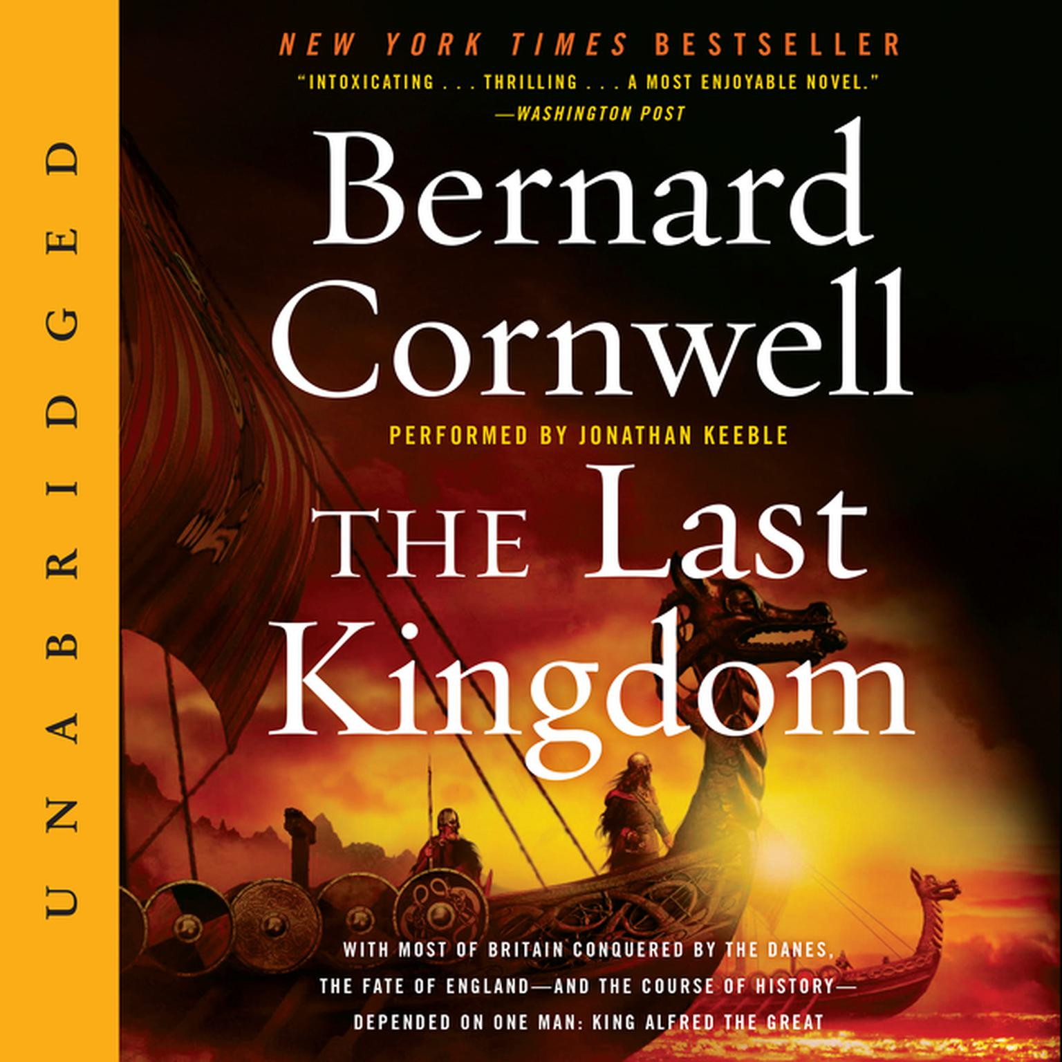 Printable The Last Kingdom Audiobook Cover Art