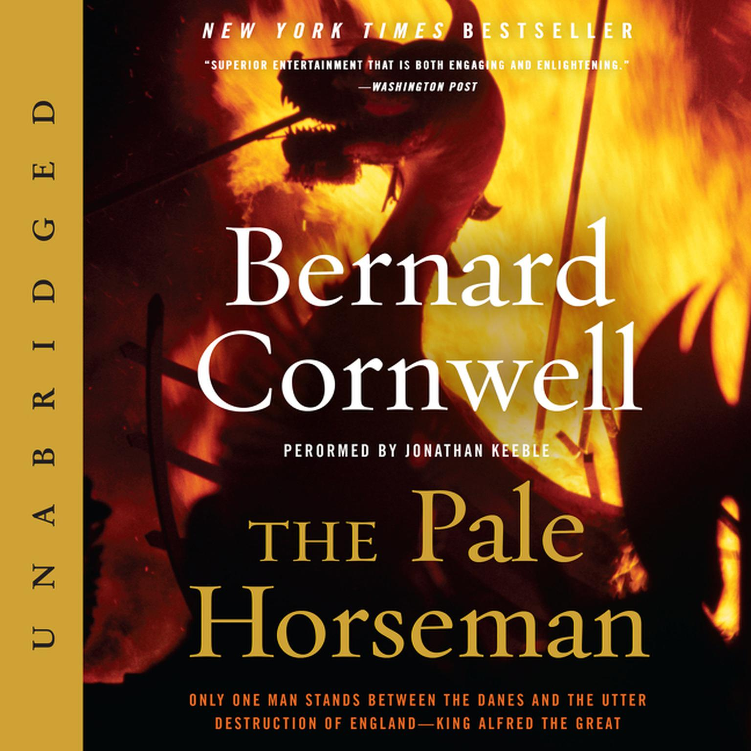 Printable The Pale Horseman Audiobook Cover Art
