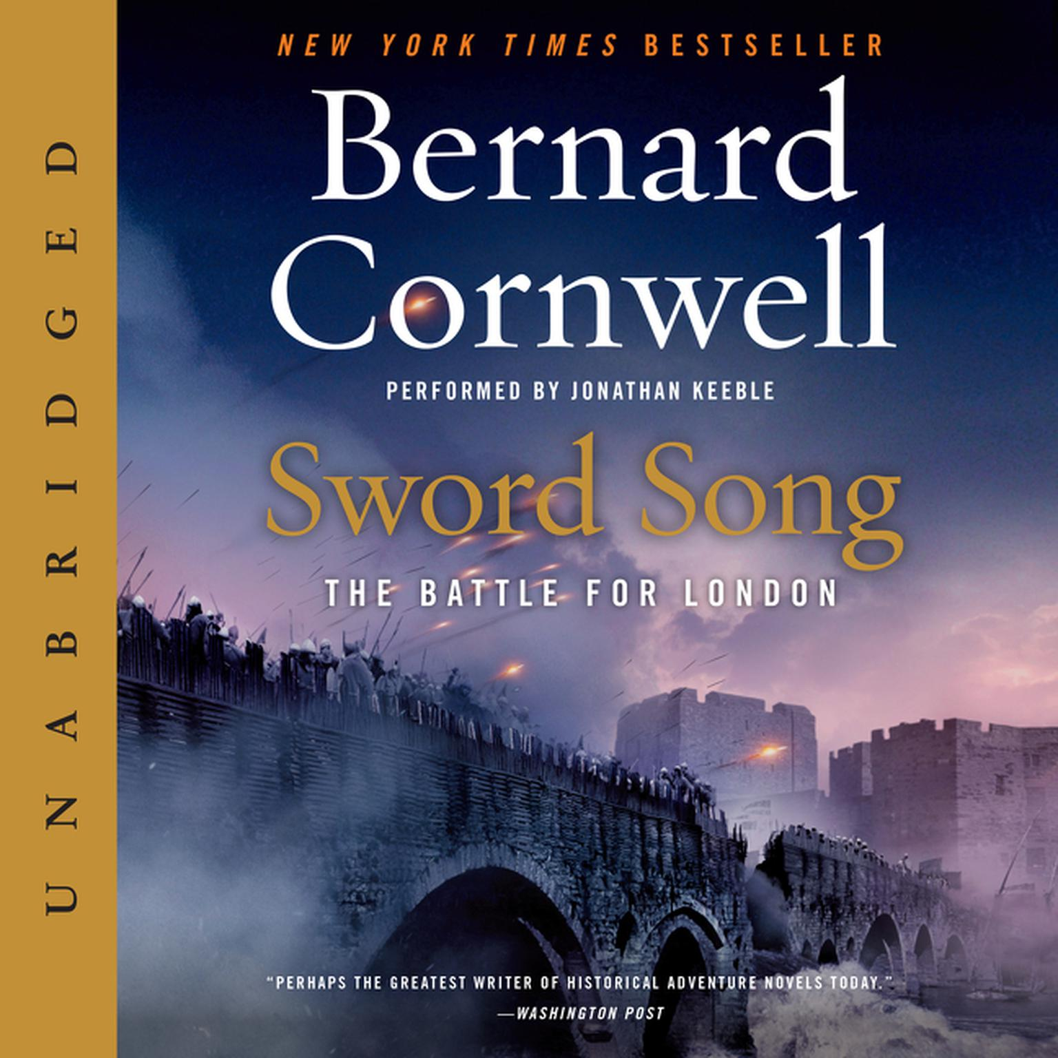 Printable Sword Song: The Battle for London Audiobook Cover Art