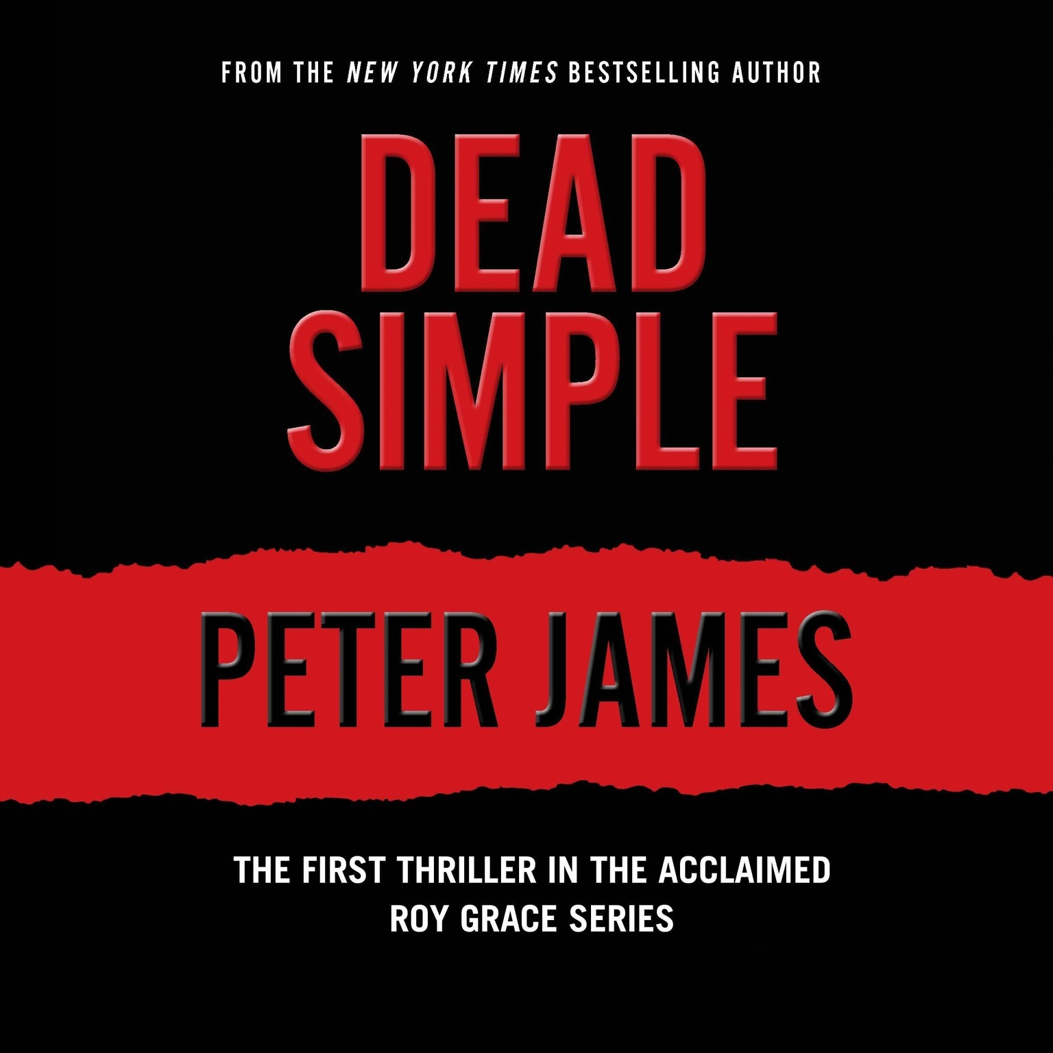 Printable Dead Simple Audiobook Cover Art