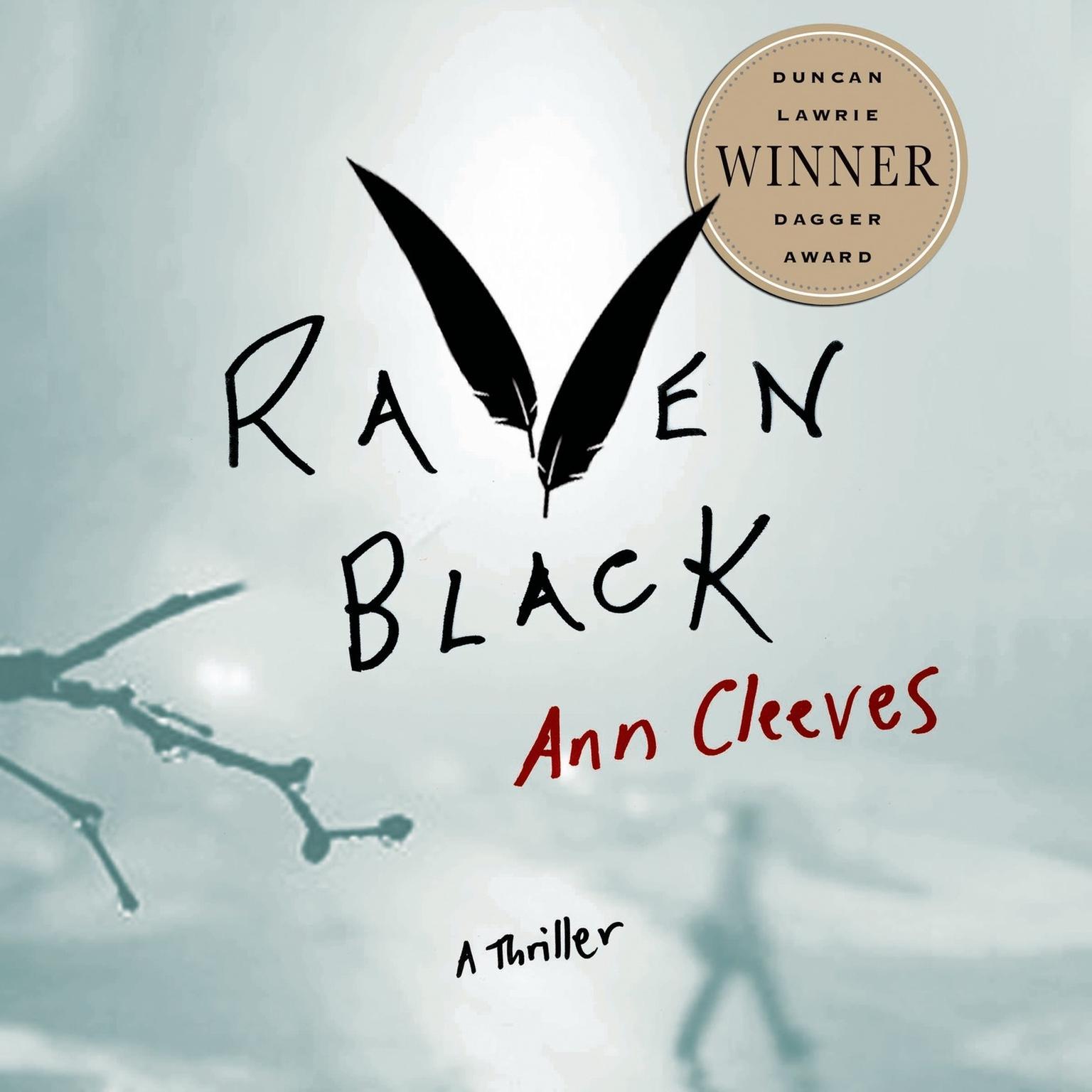 Printable Raven Black: Book One of the Shetland Island Quartet Audiobook Cover Art