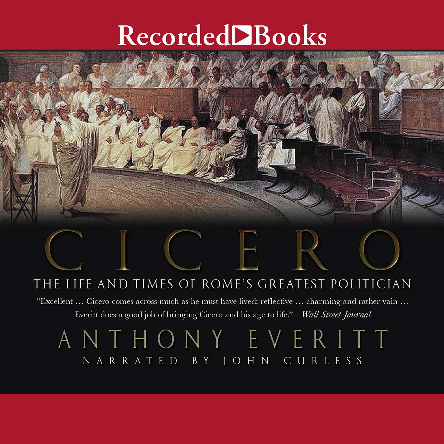 Printable Cicero: The Life and Times of Rome's Greatest Politician Audiobook Cover Art