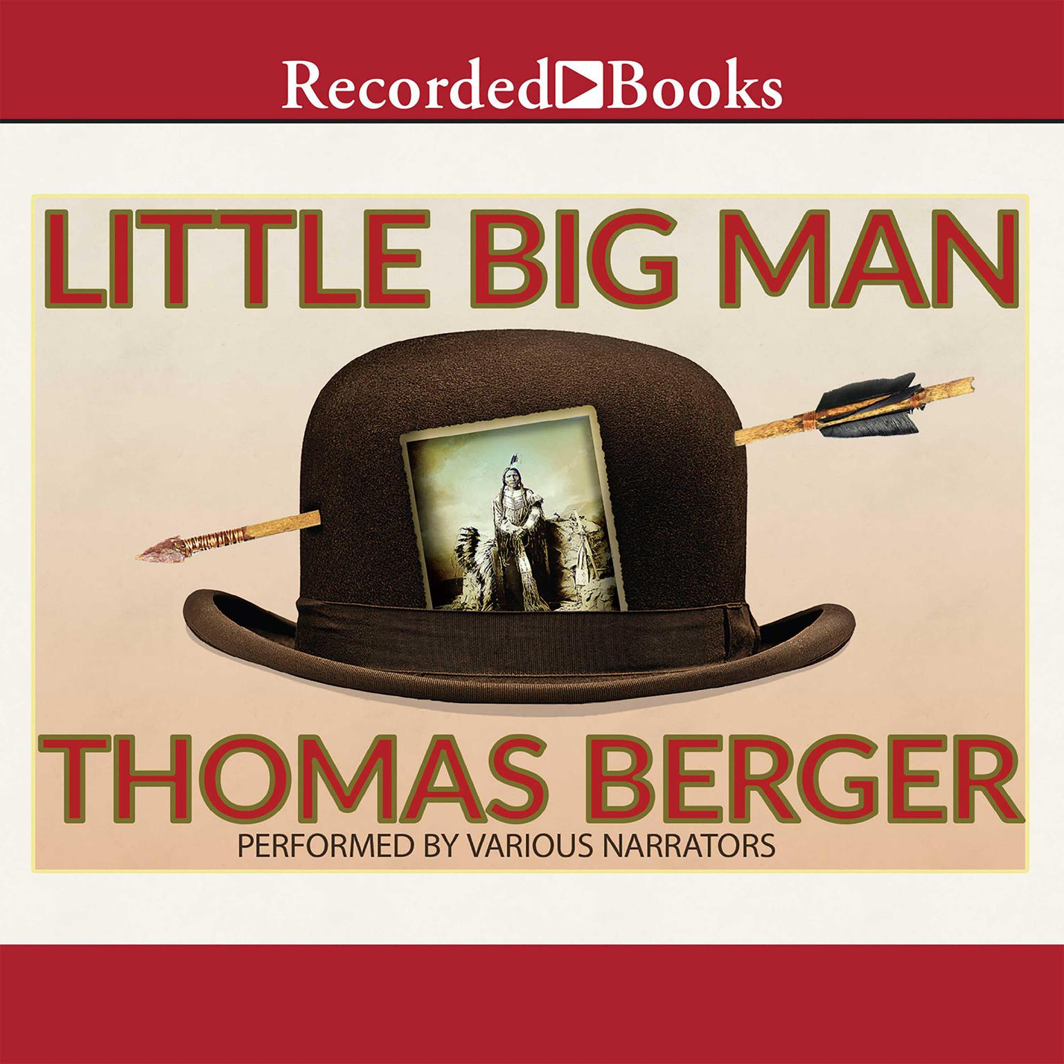 Printable Little Big Man Audiobook Cover Art