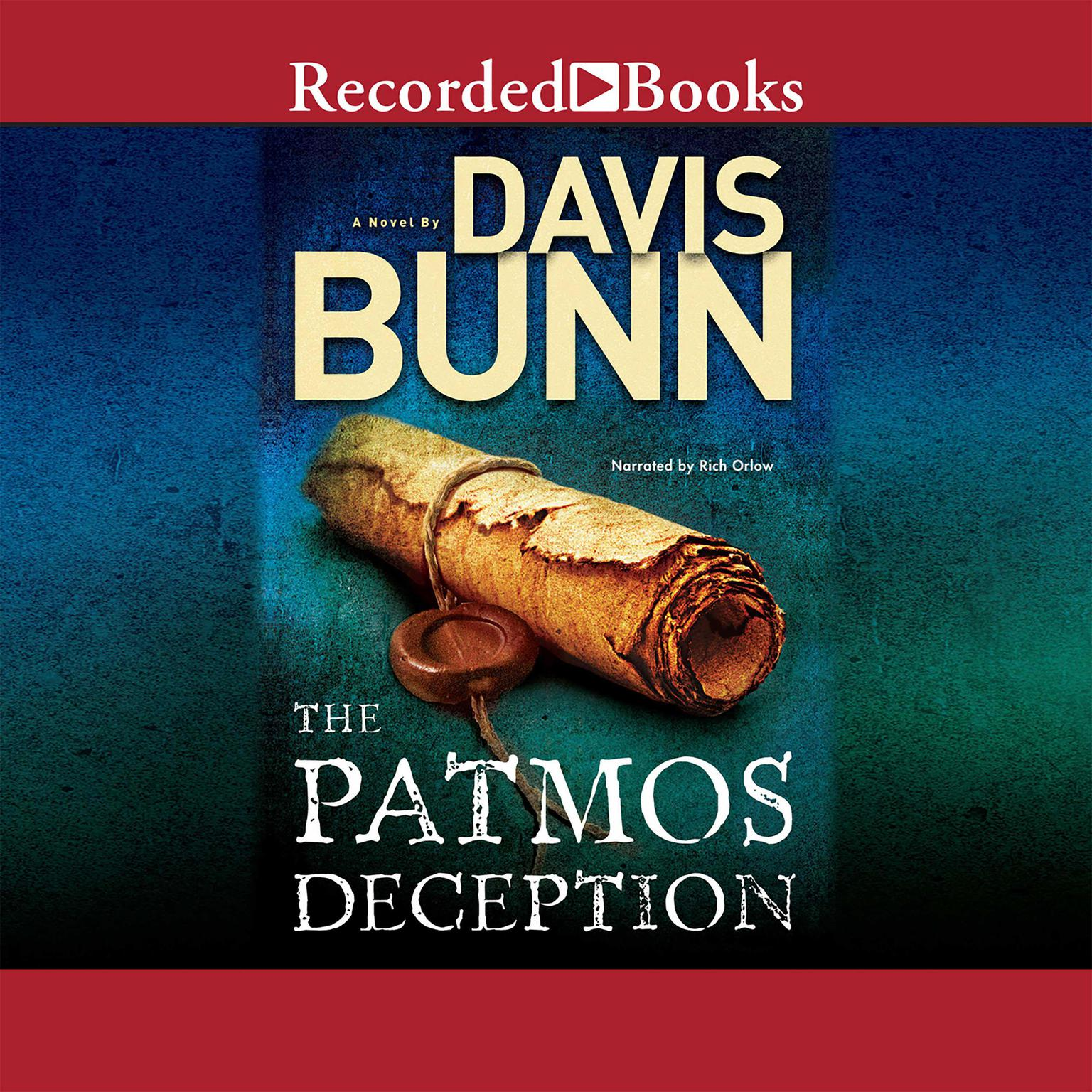 Printable The Patmos Deception Audiobook Cover Art