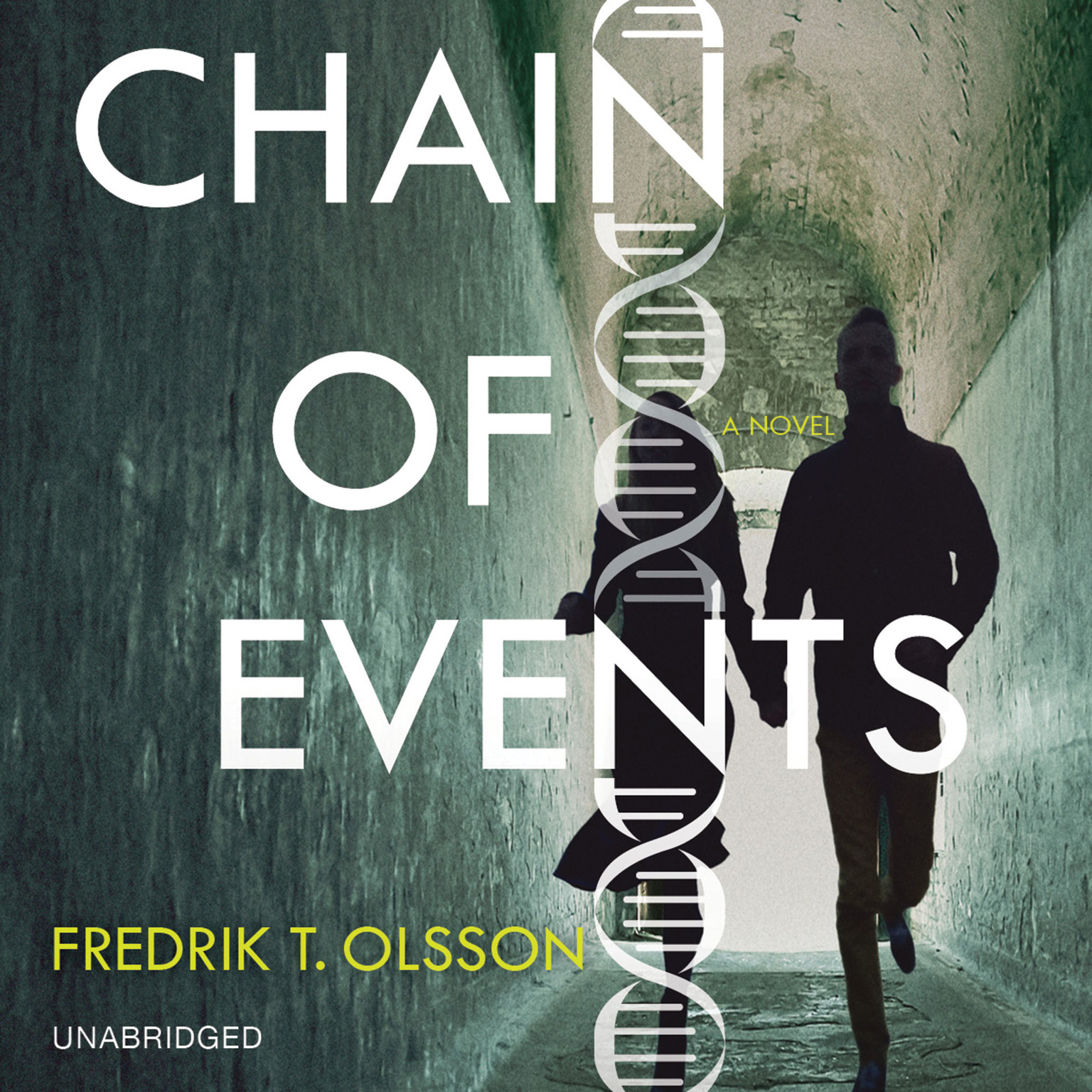 Printable Chain of Events: A Novel Audiobook Cover Art