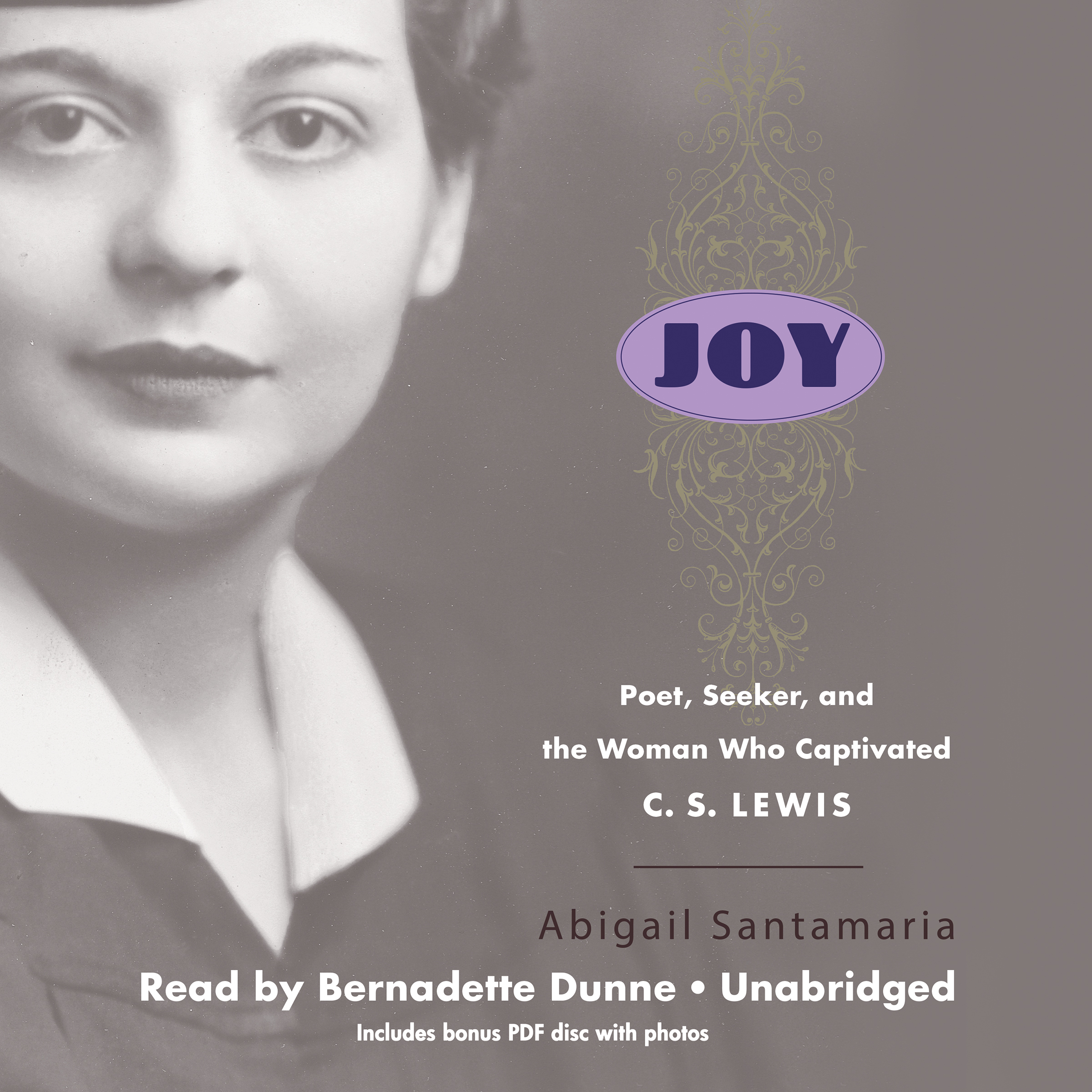 Printable Joy: Poet, Seeker, and the Woman Who Captivated C. S. Lewis Audiobook Cover Art