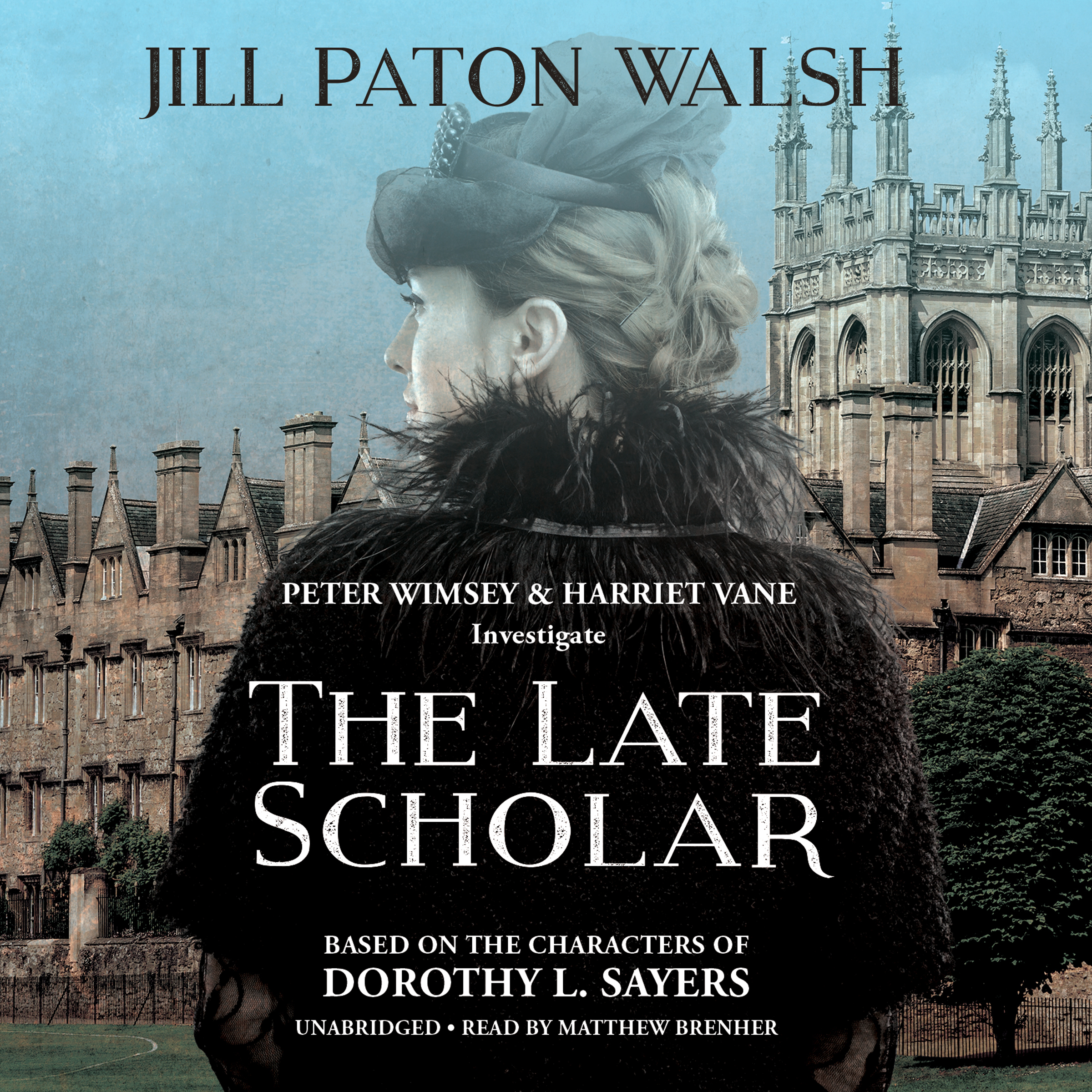 Printable The Late Scholar: The New Lord Peter Wimsey / Harriet Vane Mystery Audiobook Cover Art