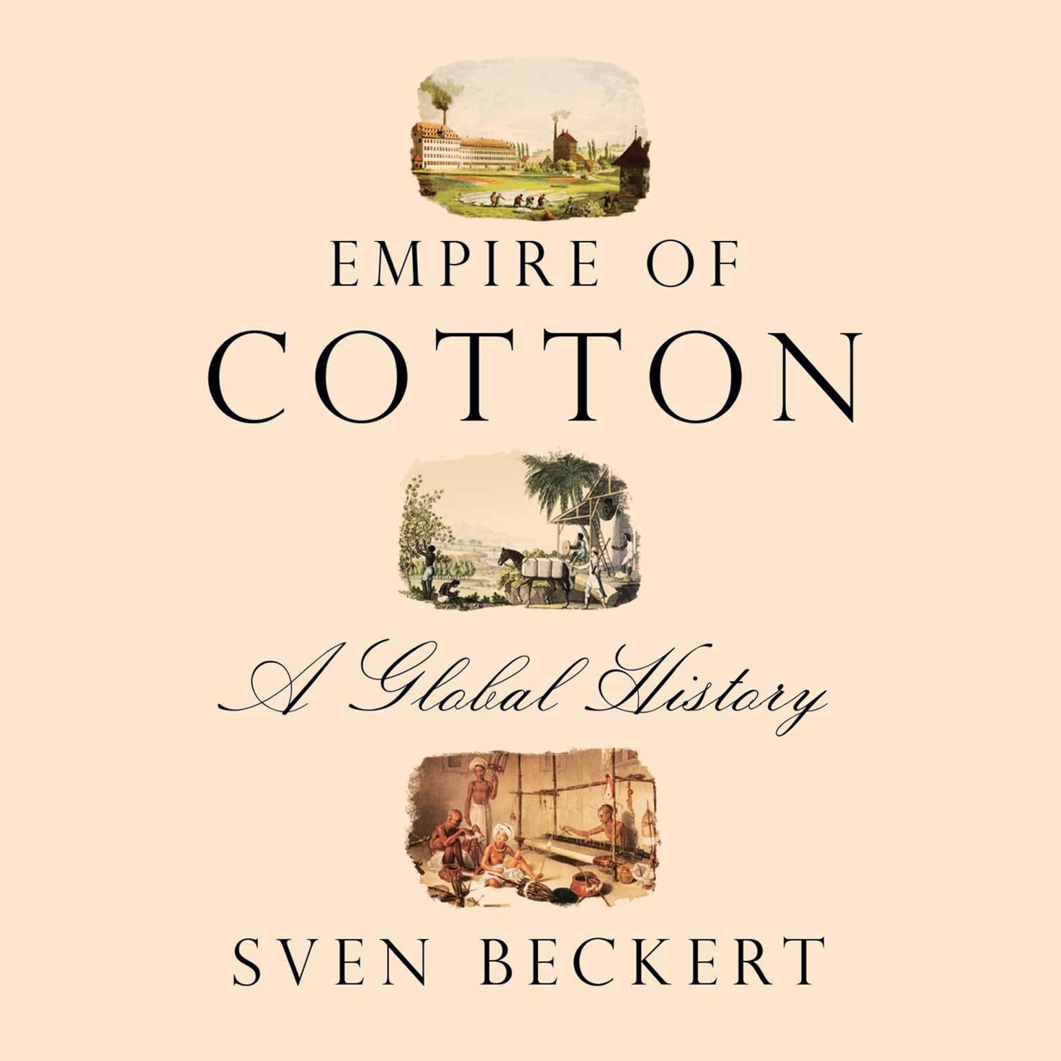 Printable Empire of Cotton: A Global History Audiobook Cover Art