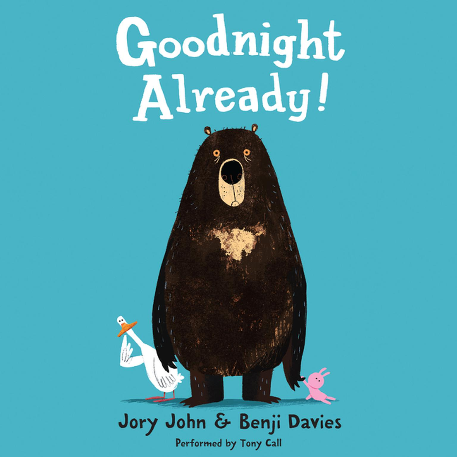 Printable Goodnight Already! Audiobook Cover Art