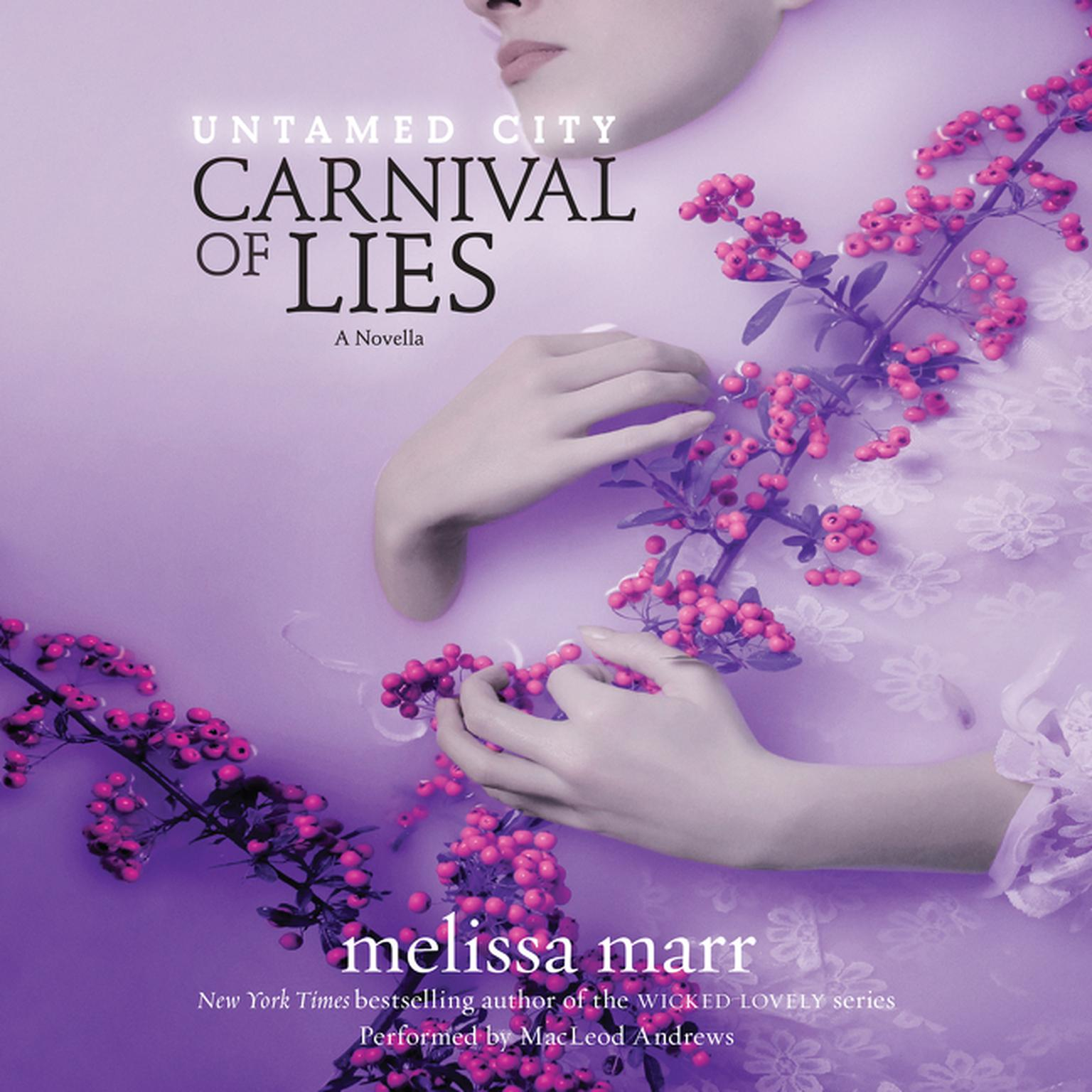 Printable Untamed City: Carnival of Lies Audiobook Cover Art