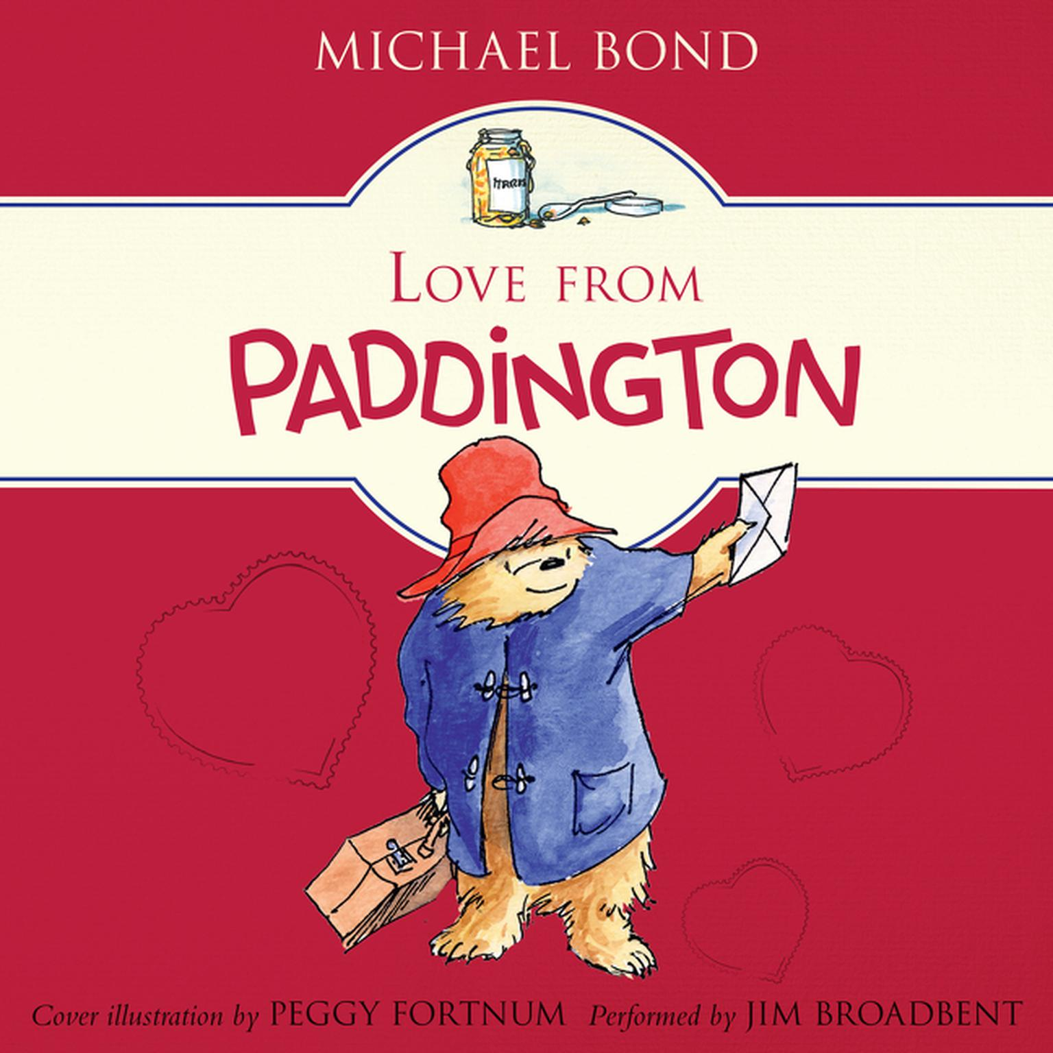 Printable Love from Paddington Audiobook Cover Art