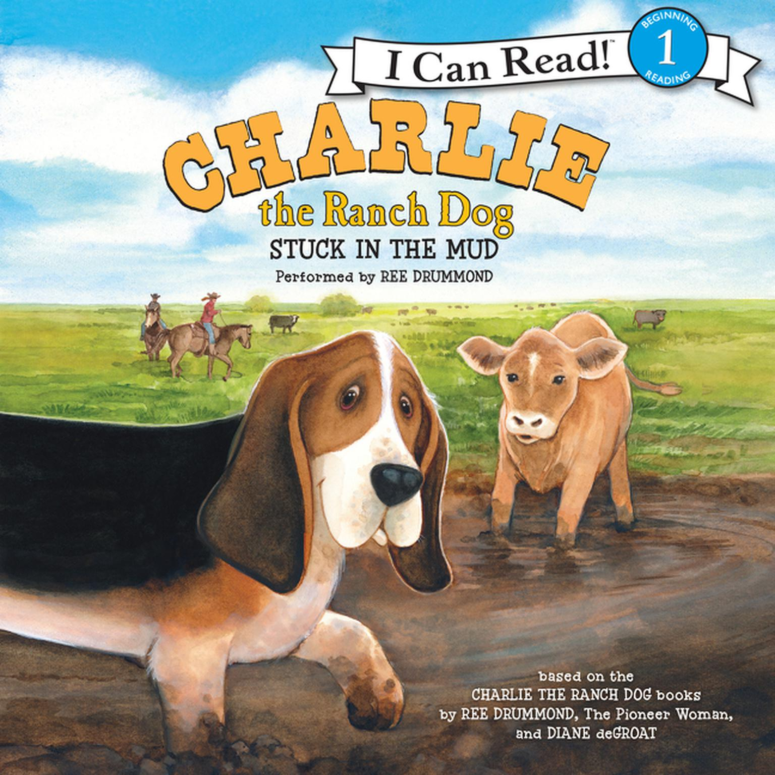 Printable Charlie the Ranch Dog: Stuck in the Mud Audiobook Cover Art