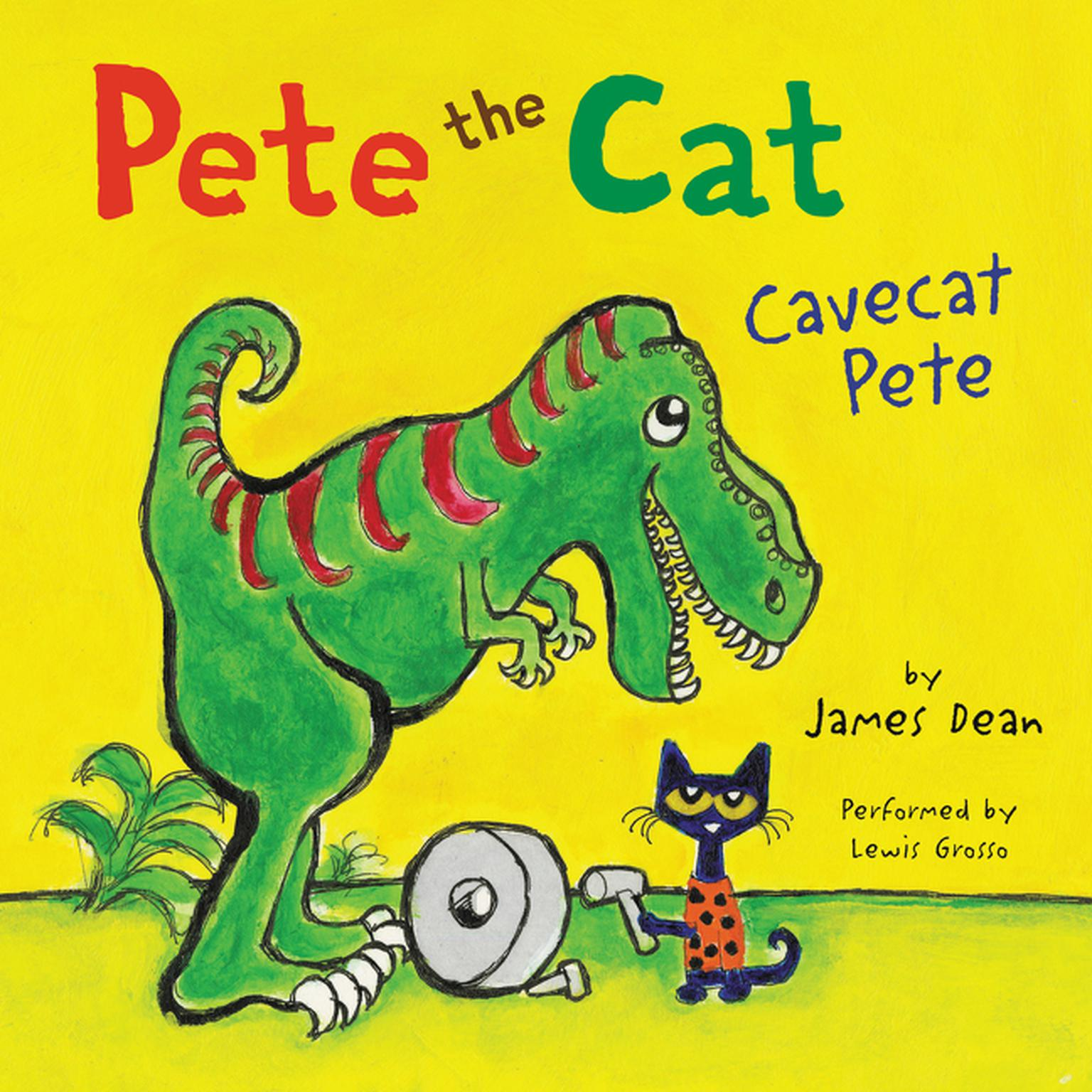 Printable Pete the Cat: Cavecat Pete Audiobook Cover Art