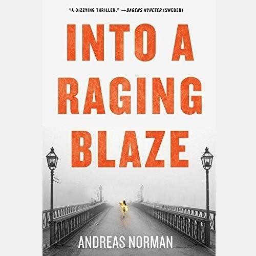 Printable Into a Raging Blaze Audiobook Cover Art