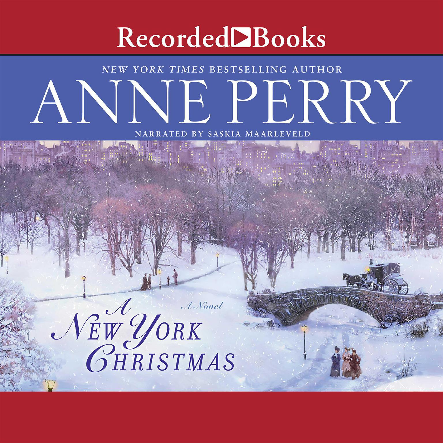 Printable A New York Christmas Audiobook Cover Art