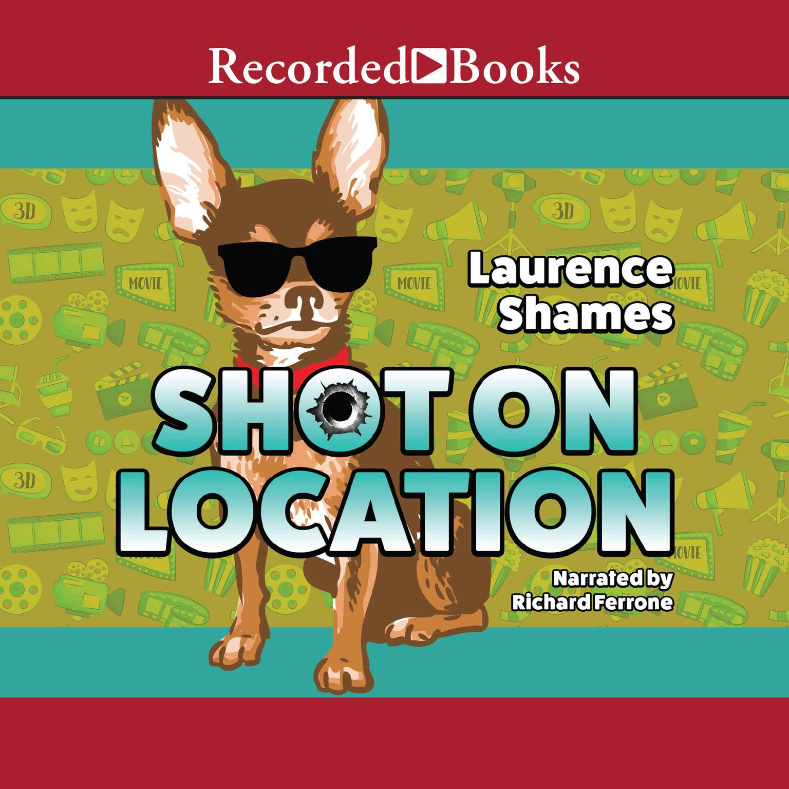 Printable Shot on Location Audiobook Cover Art