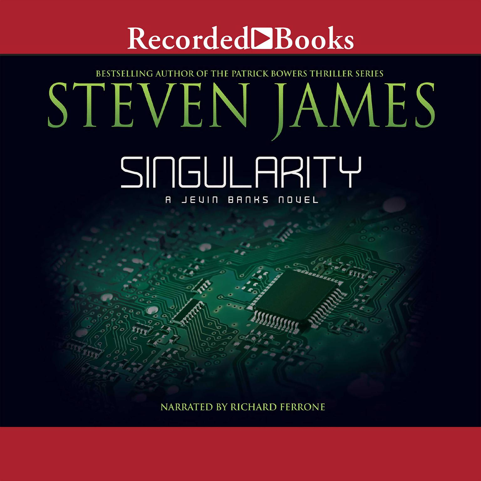 Printable Singularity Audiobook Cover Art