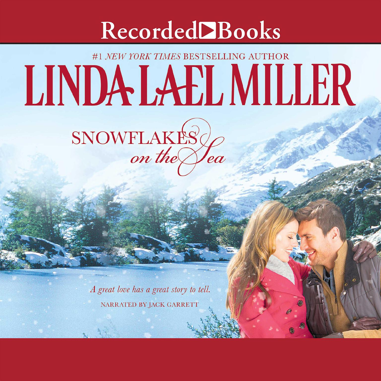 Printable Snowflakes on the Sea Audiobook Cover Art