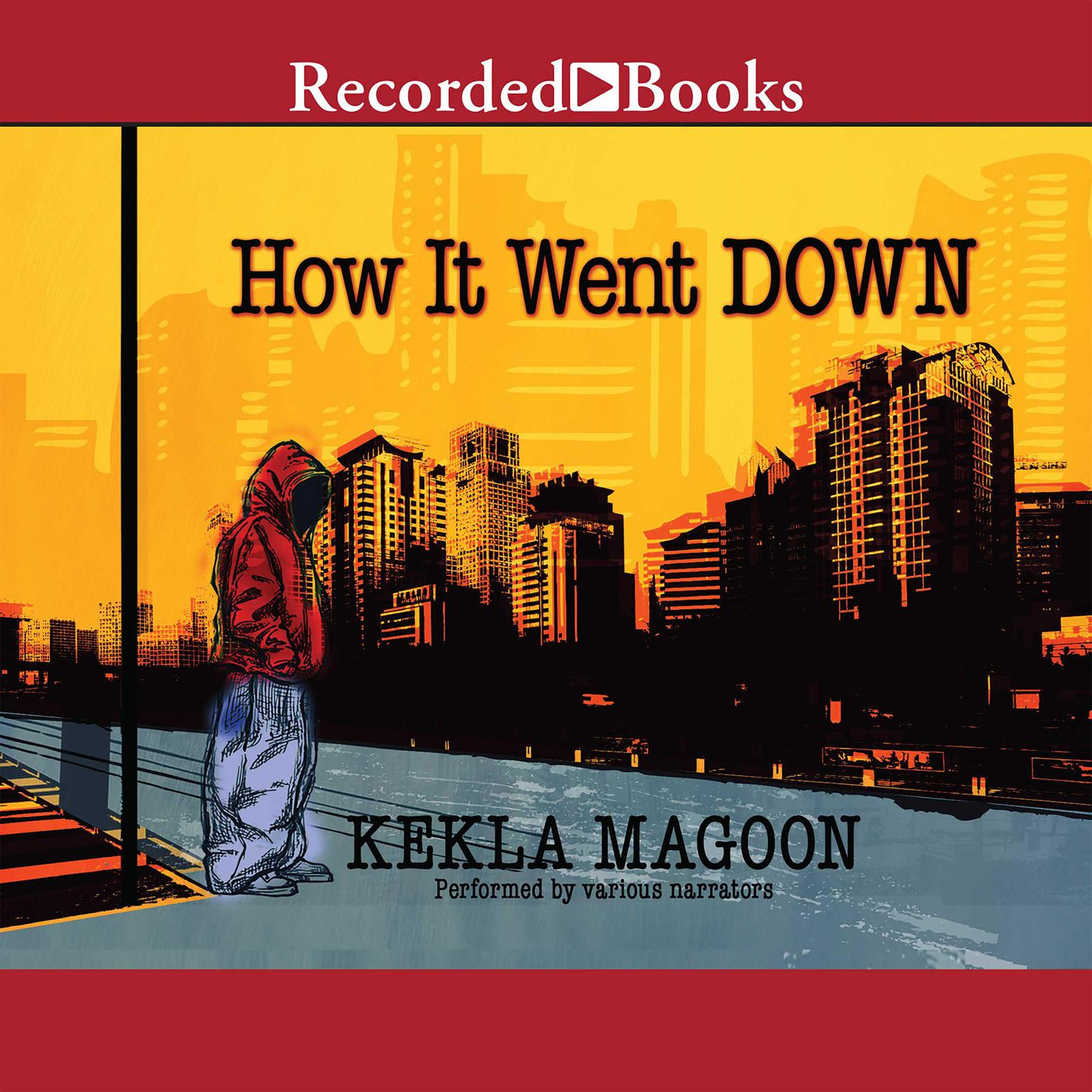 Printable How It Went Down Audiobook Cover Art