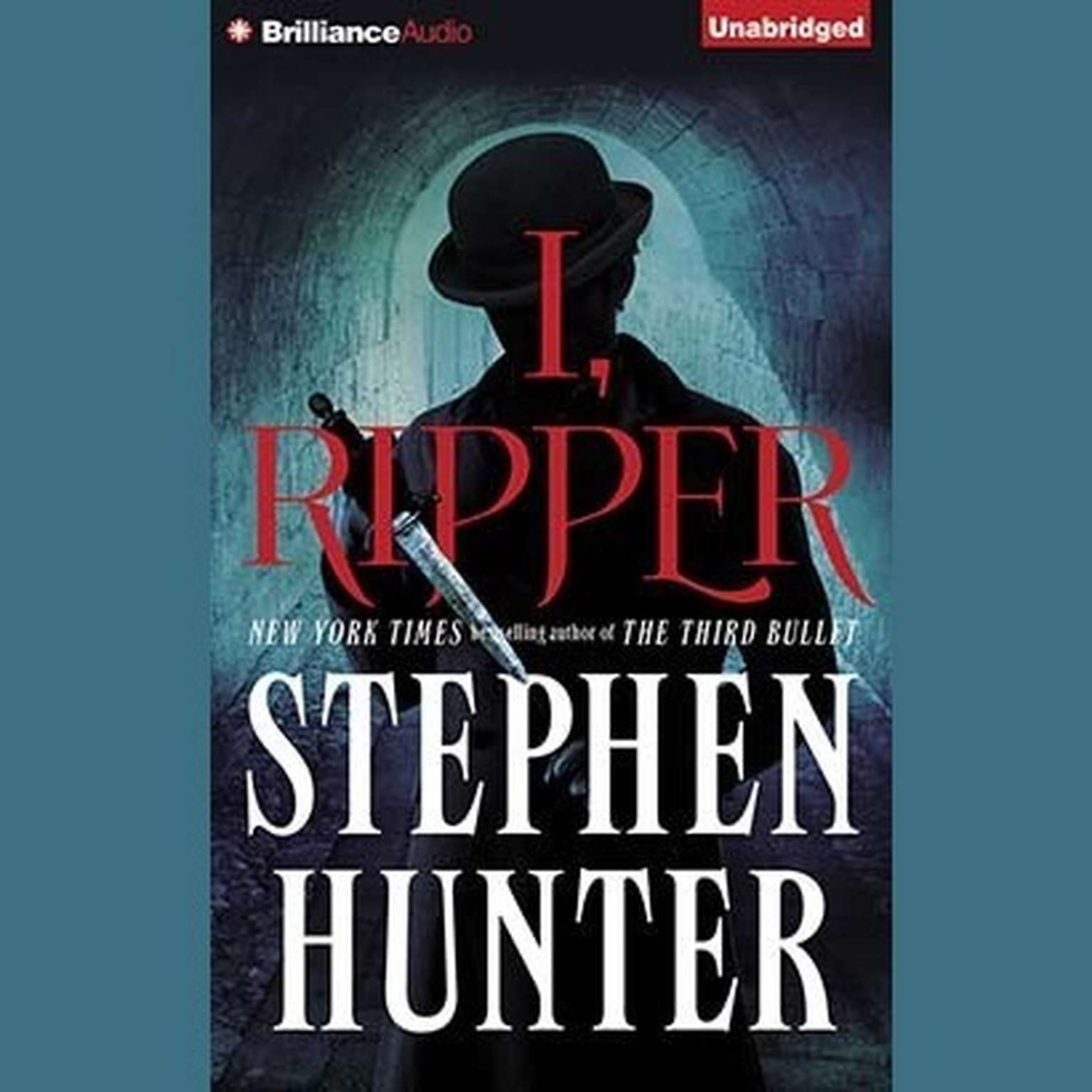 Printable I, Ripper Audiobook Cover Art