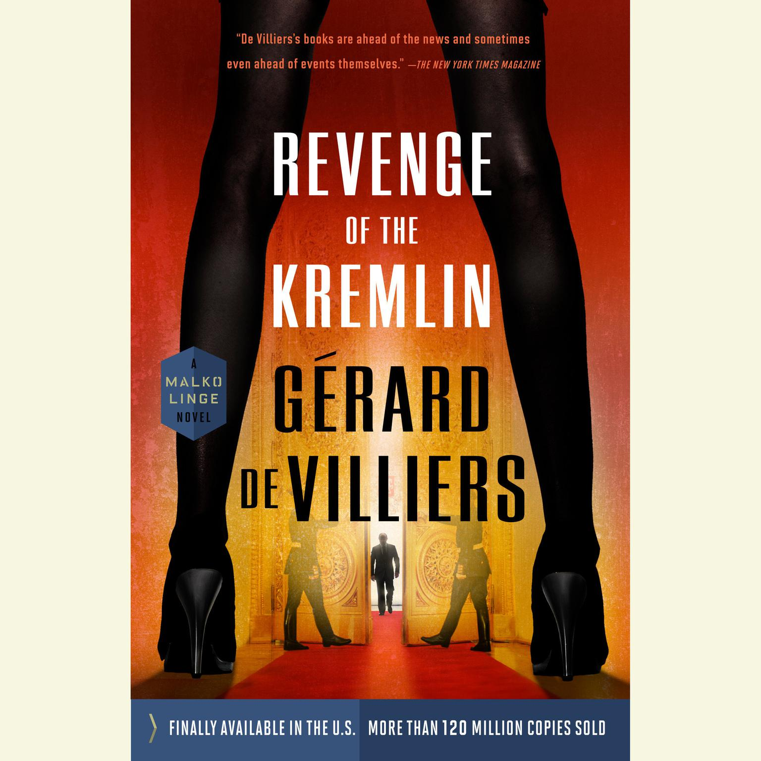 Printable Revenge of the Kremlin Audiobook Cover Art
