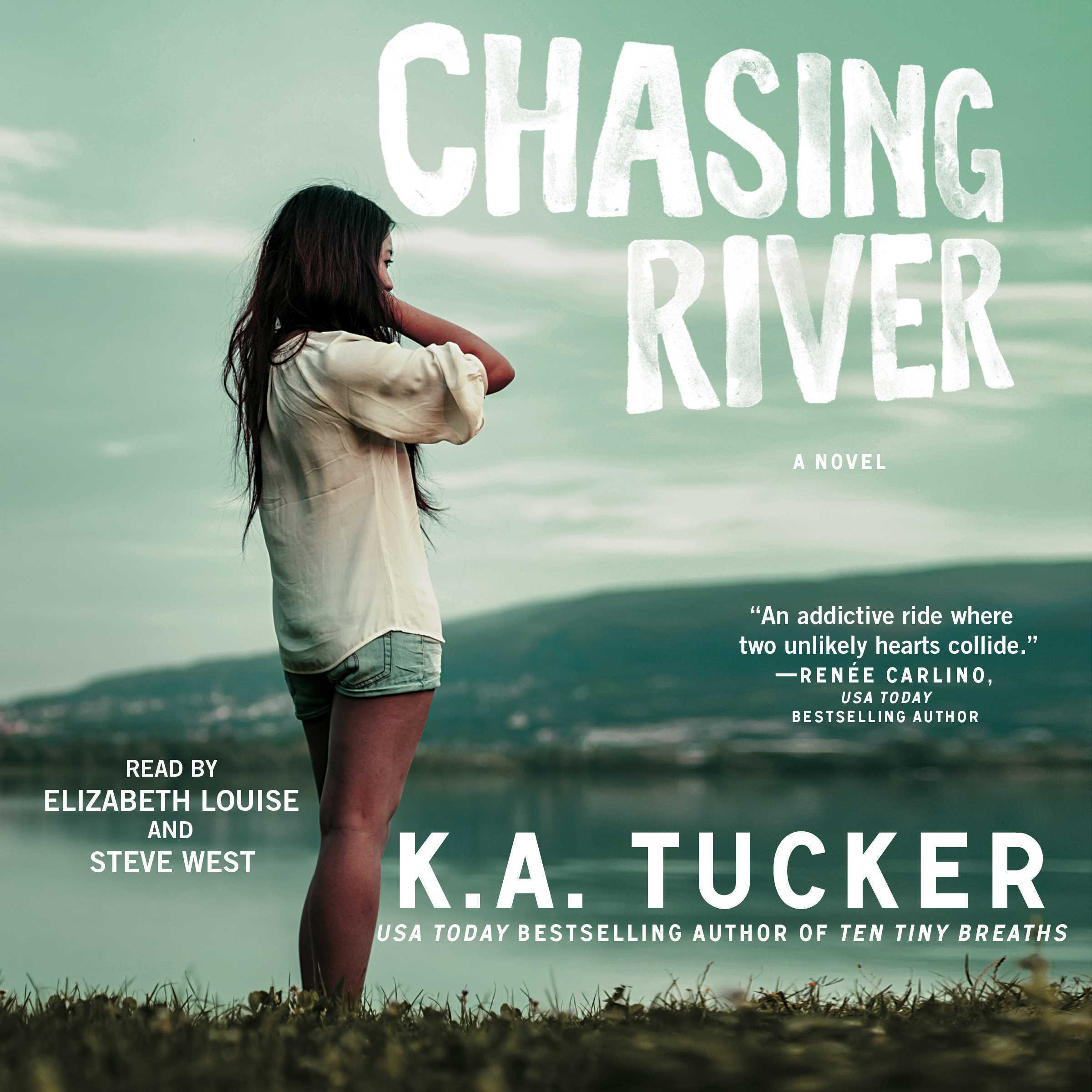 Printable Chasing River Audiobook Cover Art
