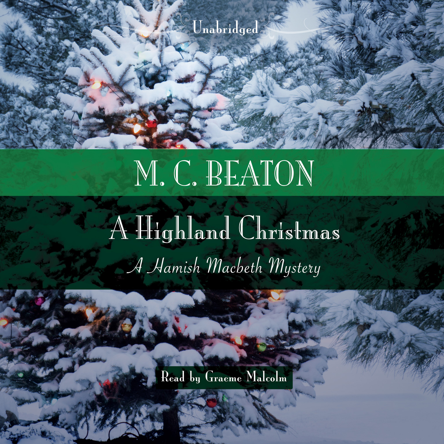 Printable A Highland Christmas Audiobook Cover Art