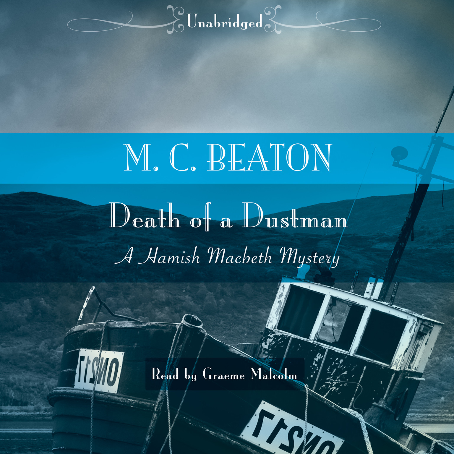 Printable Death of a Dustman Audiobook Cover Art