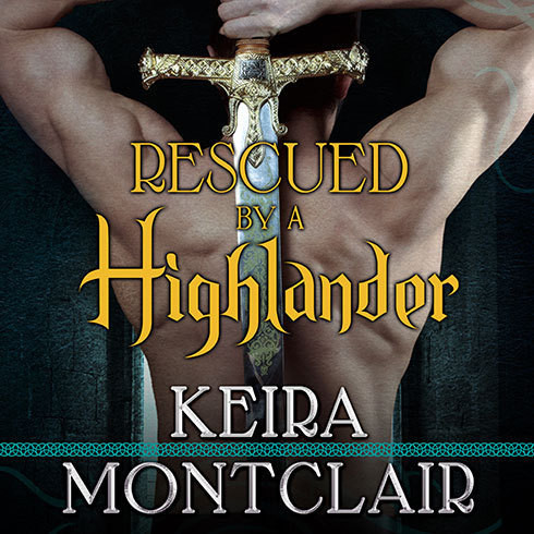Printable Rescued by a Highlander Audiobook Cover Art