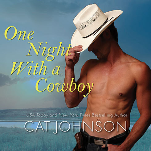 Printable One Night with a Cowboy Audiobook Cover Art