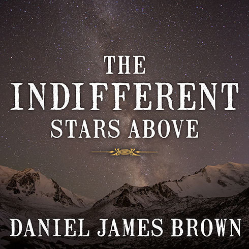 Printable The Indifferent Stars Above: The Harrowing Saga of a Donner Party Bride Audiobook Cover Art