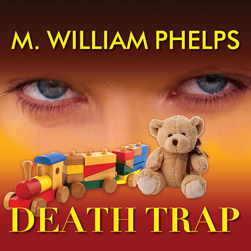 Printable Death Trap Audiobook Cover Art