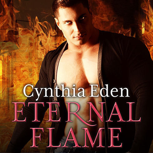 Printable Eternal Flame Audiobook Cover Art